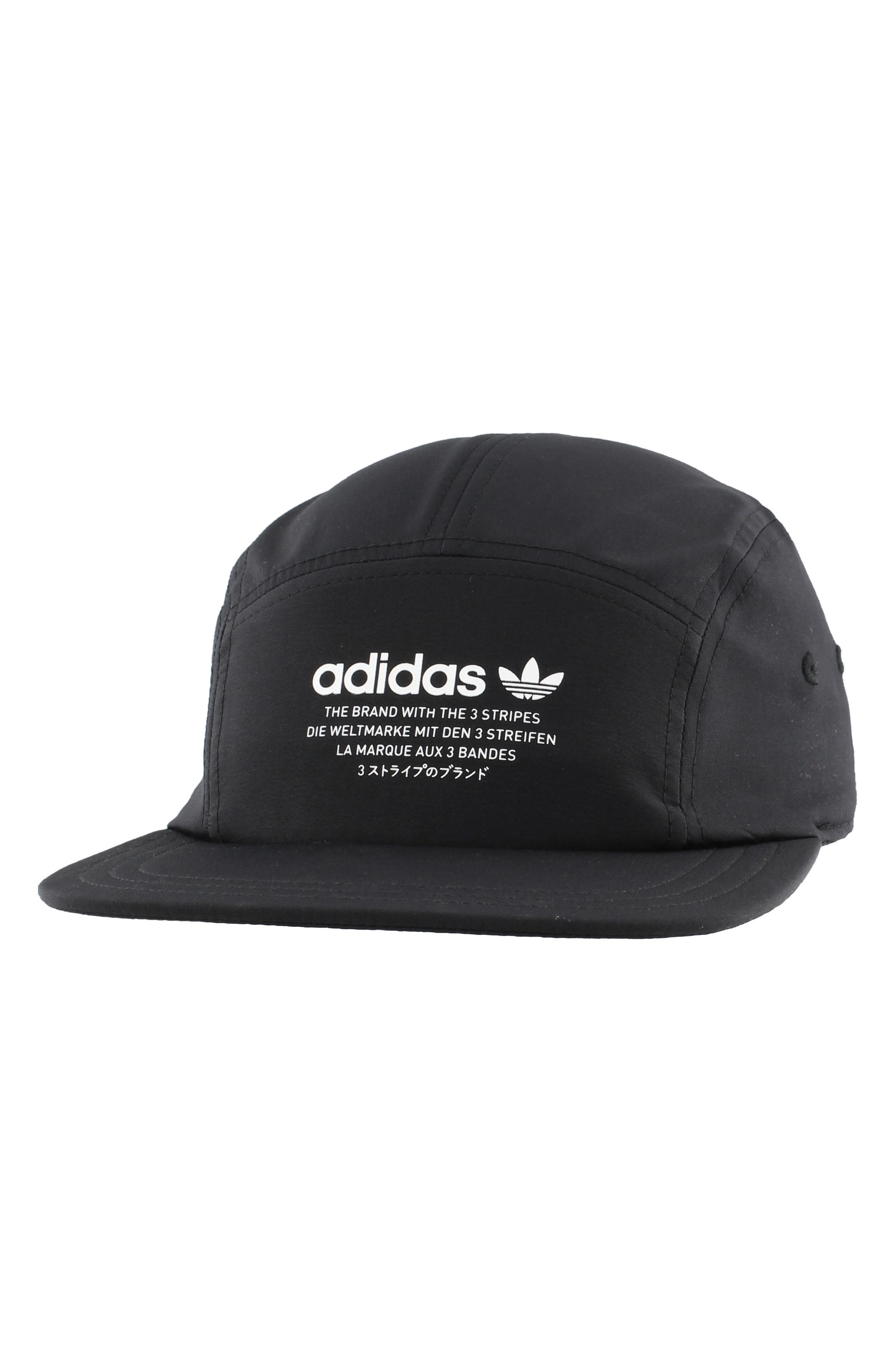 NMD Five-Panel Cap,                         Main,                         color, 001
