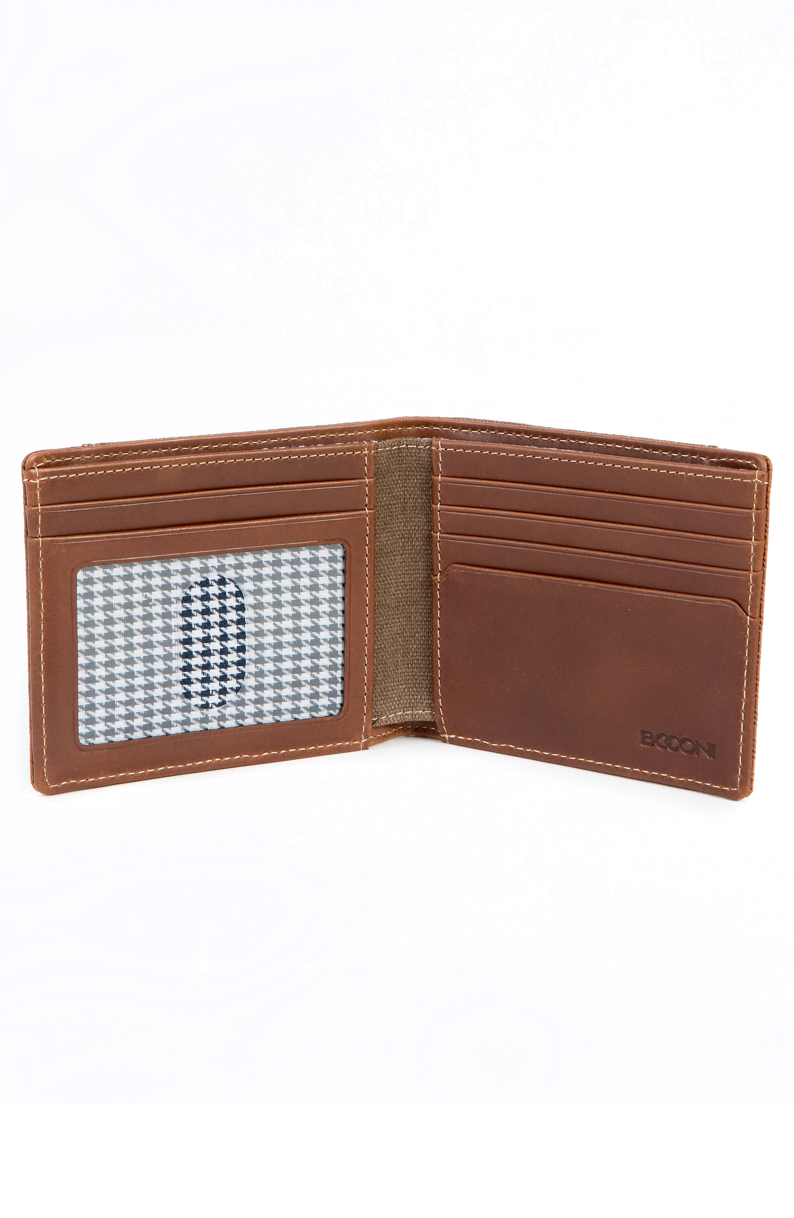 Bryant LTE Wallet,                             Alternate thumbnail 3, color,                             MAHOGANY/ HEATHER