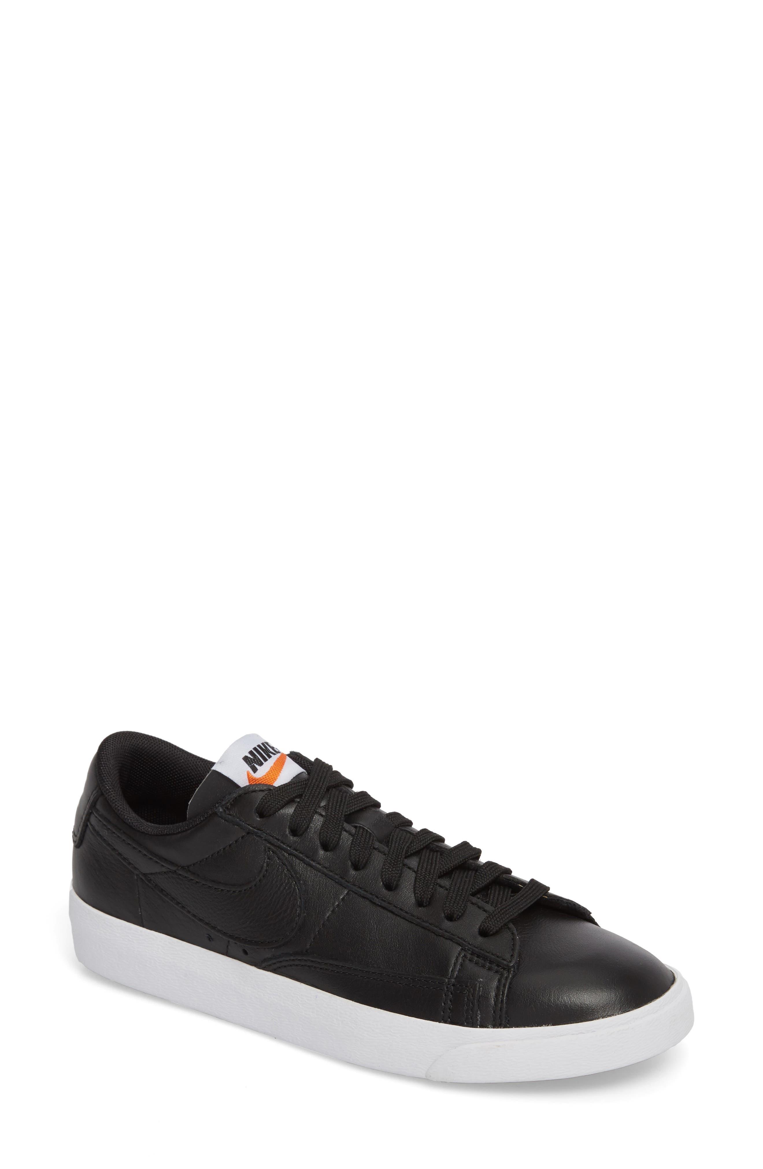 NIKE,                             Blazer Low LE Basketball Shoe,                             Main thumbnail 1, color,                             001