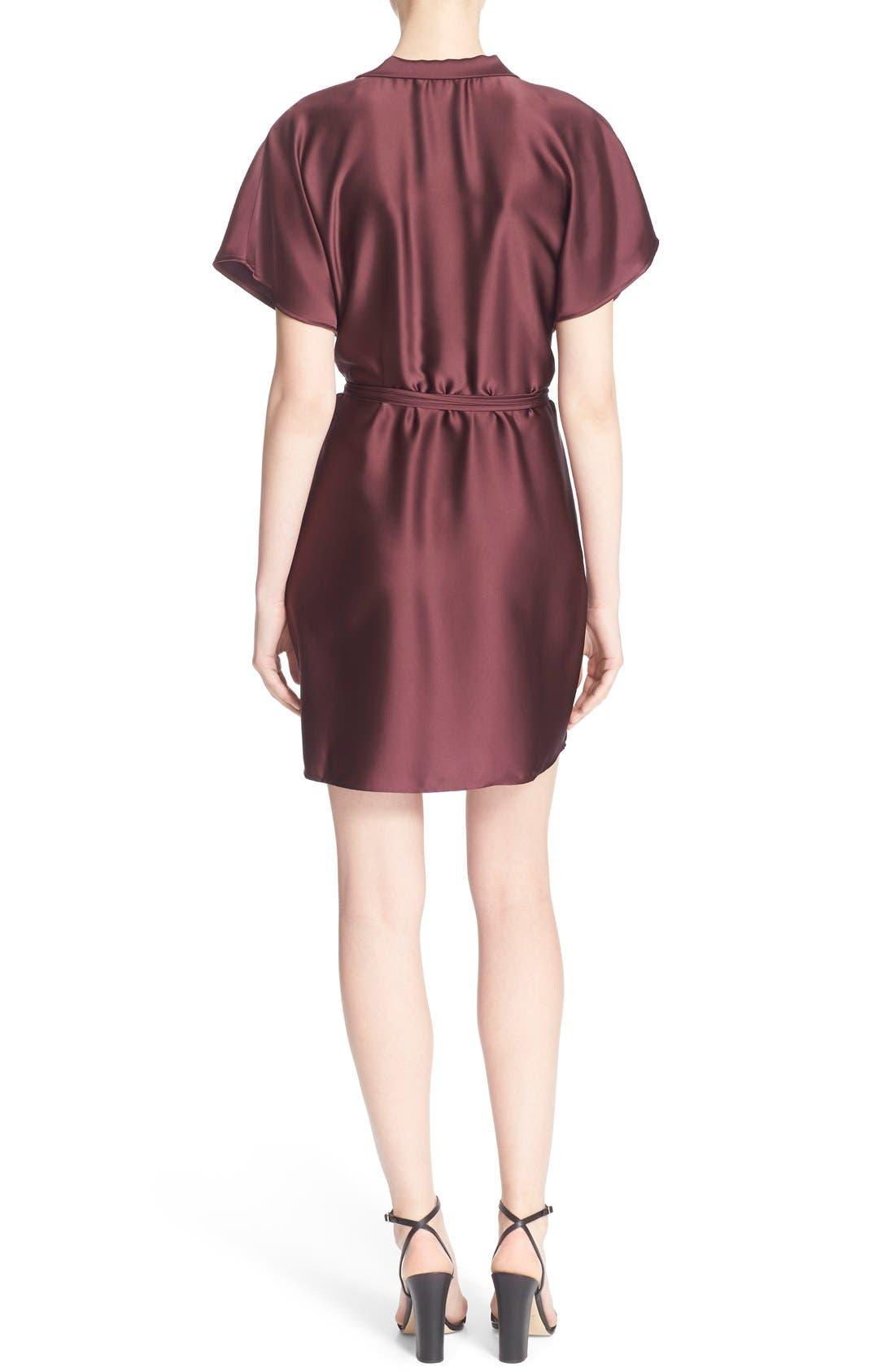 'The Wrap' Short Sleeve Dress,                             Alternate thumbnail 5, color,                             600