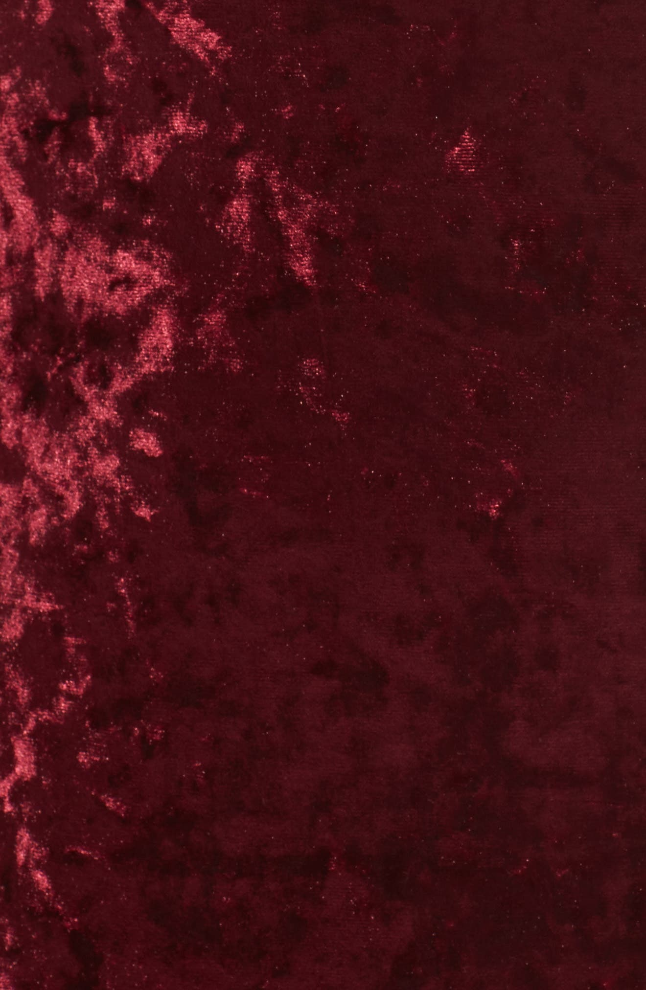 Cold Shoulder Velvet Dress,                             Alternate thumbnail 5, color,