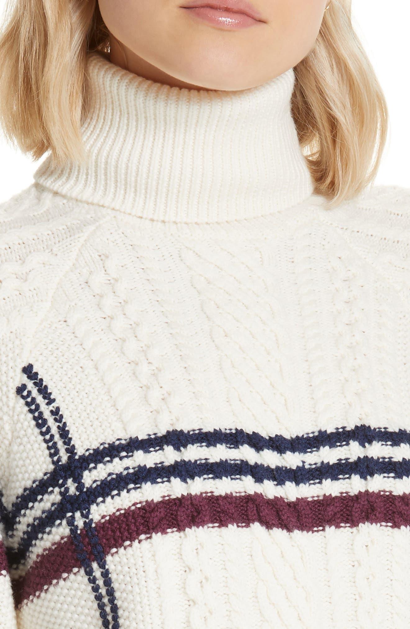 Ashlisa Sweater,                             Alternate thumbnail 4, color,                             PORCELAIN