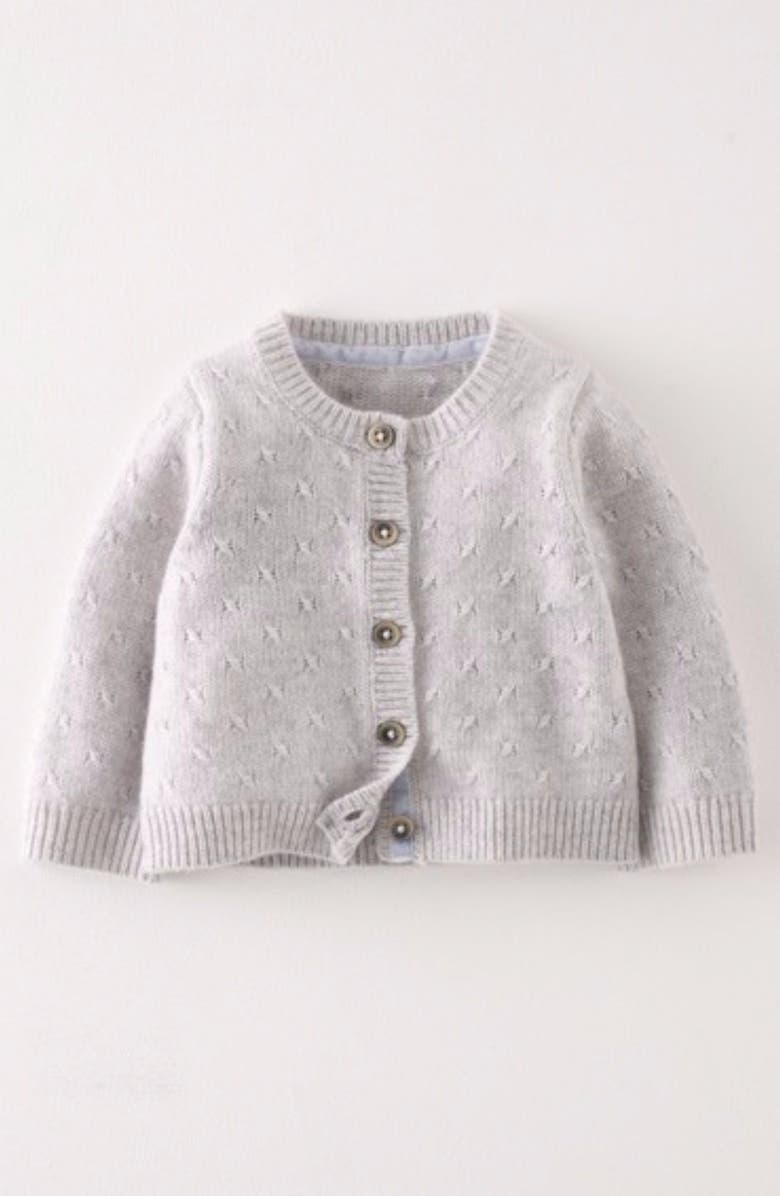 09f1ba26c3e7 Mini Boden Cashmere Cardigan (Baby Girls   Toddler Girls)