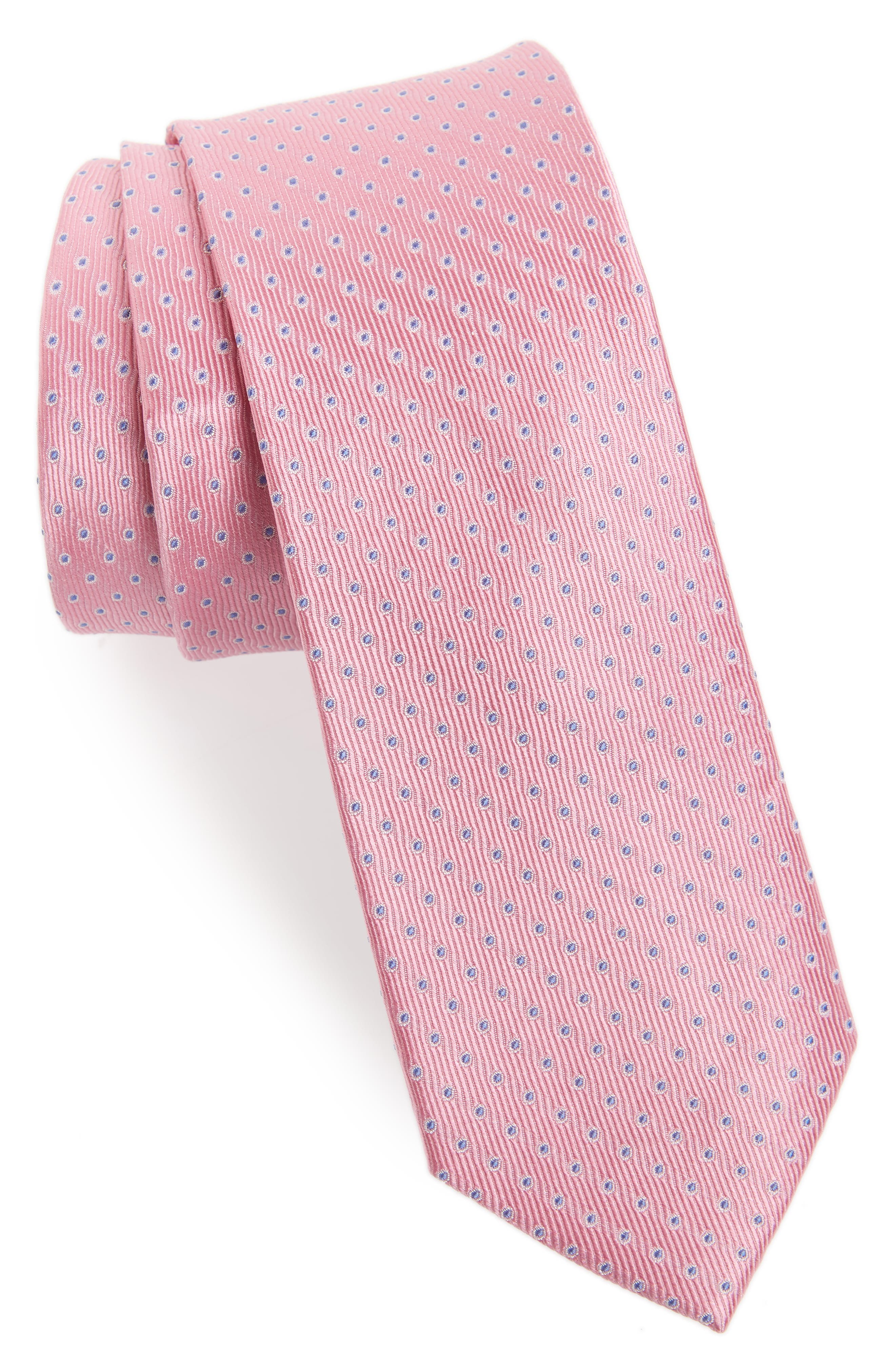 Newport Dot Silk Tie,                             Main thumbnail 7, color,