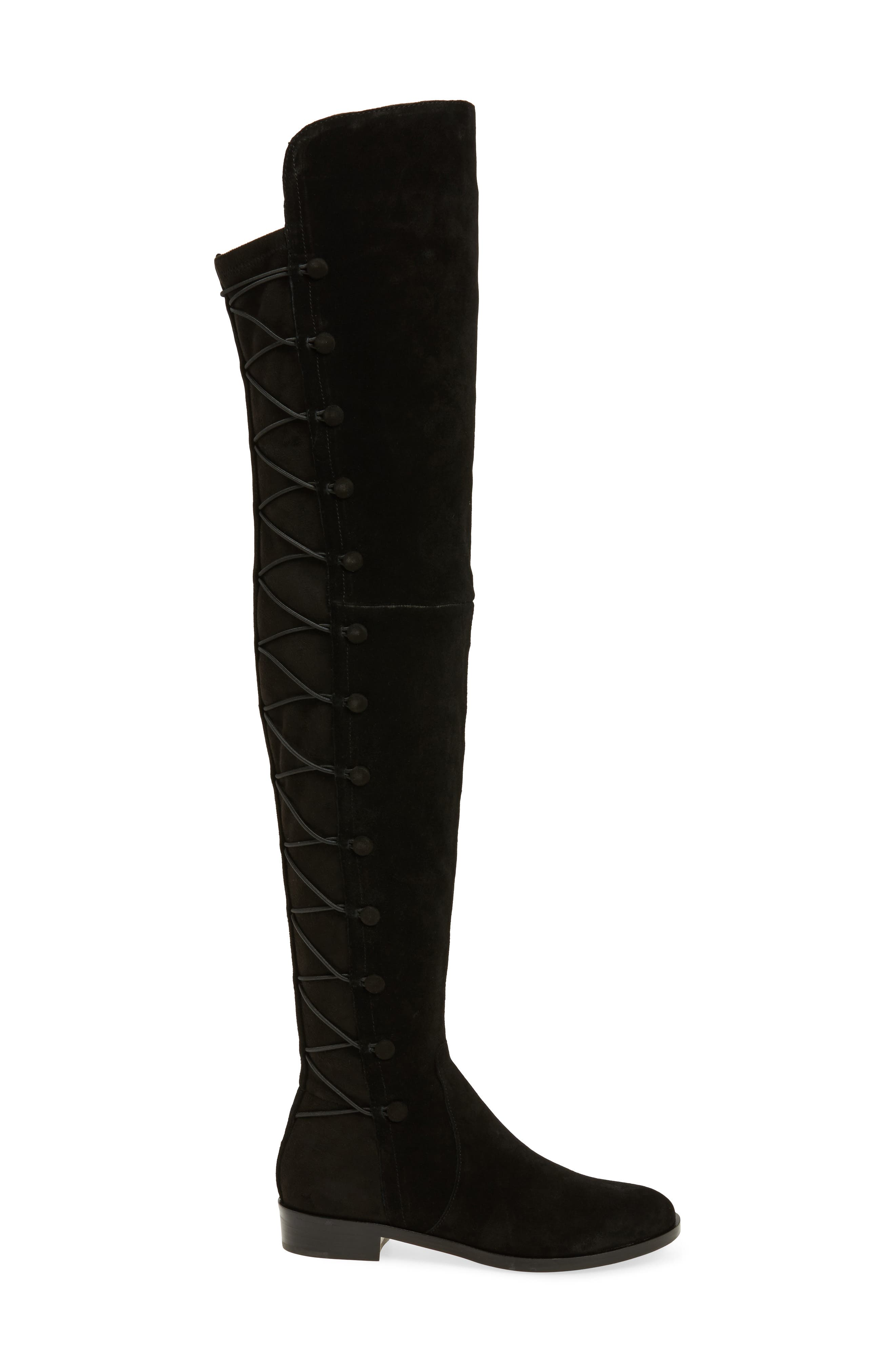 Croatia Over the Knee Boot,                             Alternate thumbnail 3, color,                             002