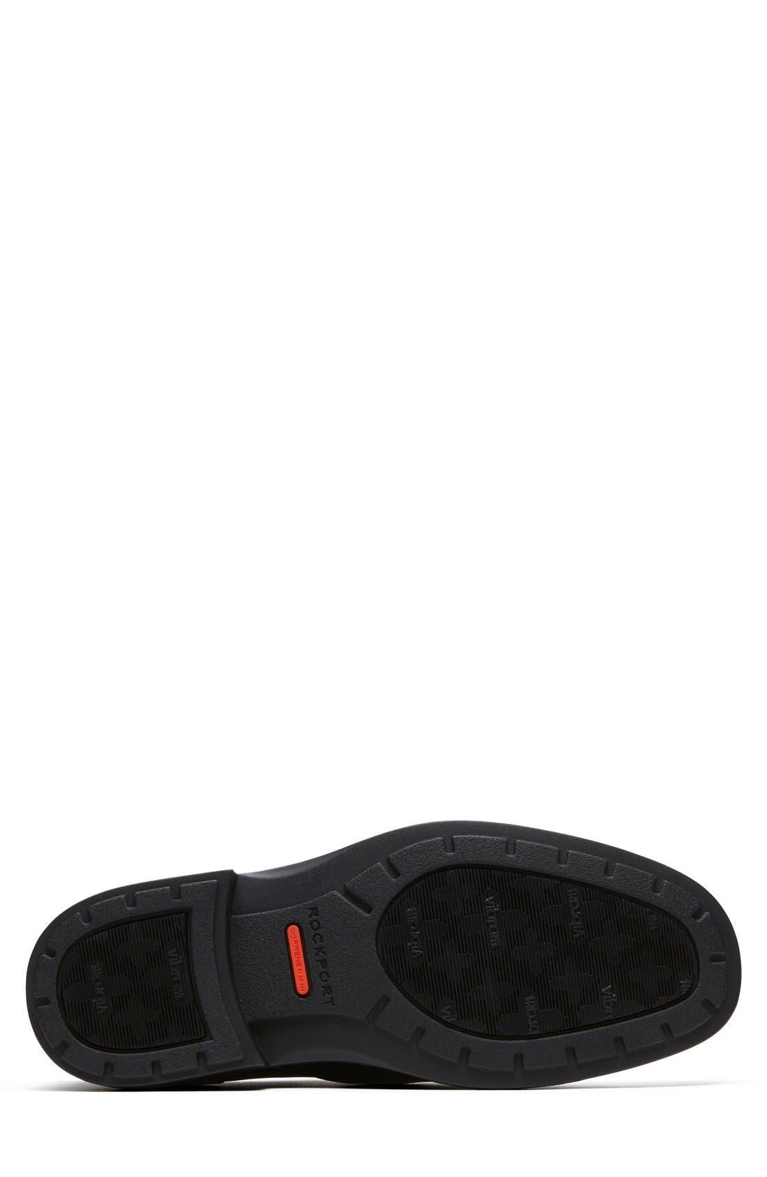 DresSports Luxe Bike Toe Slip-On,                             Alternate thumbnail 3, color,                             BLACK