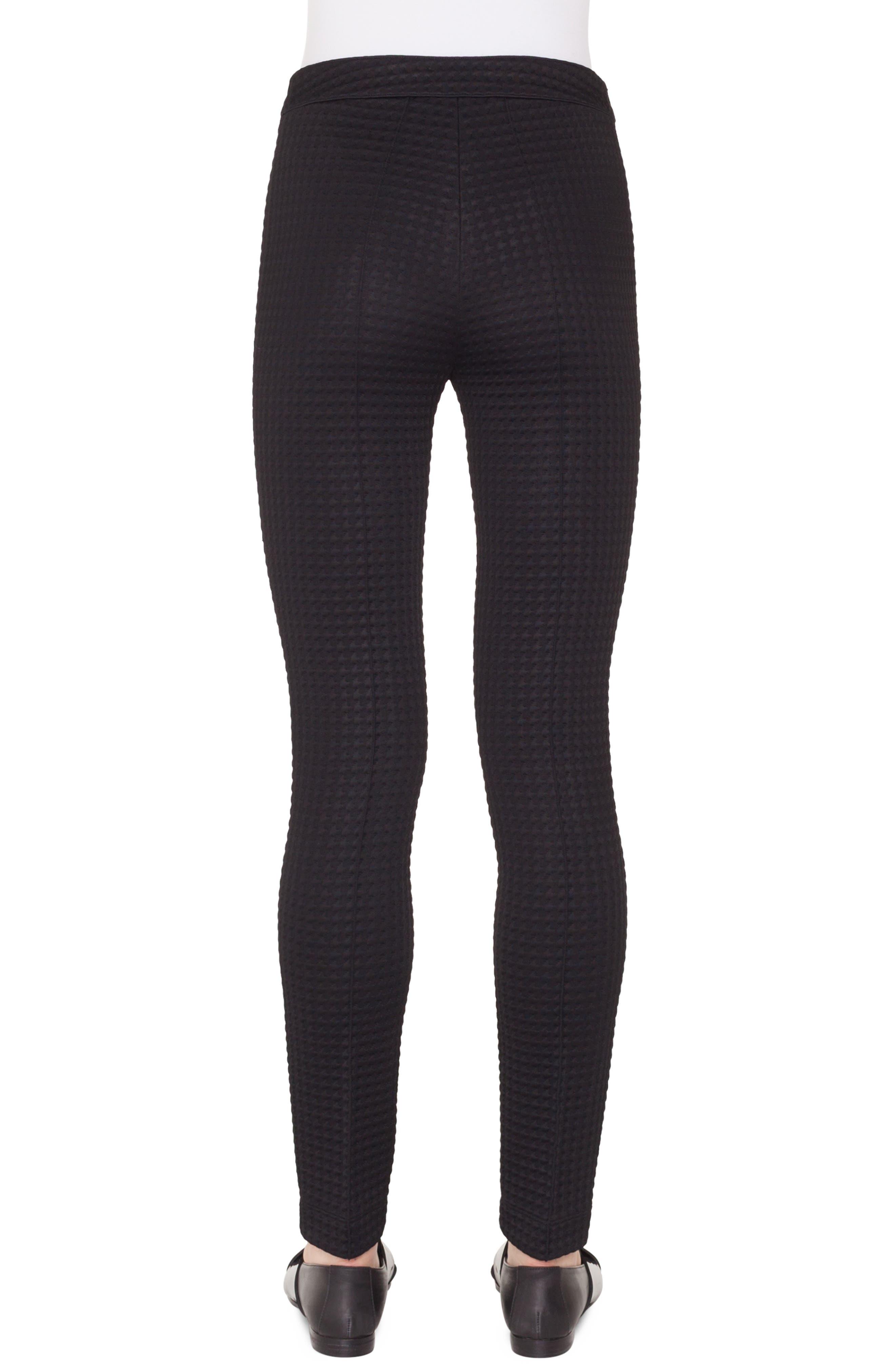 Mara Stretch Jersey Pants,                             Alternate thumbnail 2, color,                             NERO