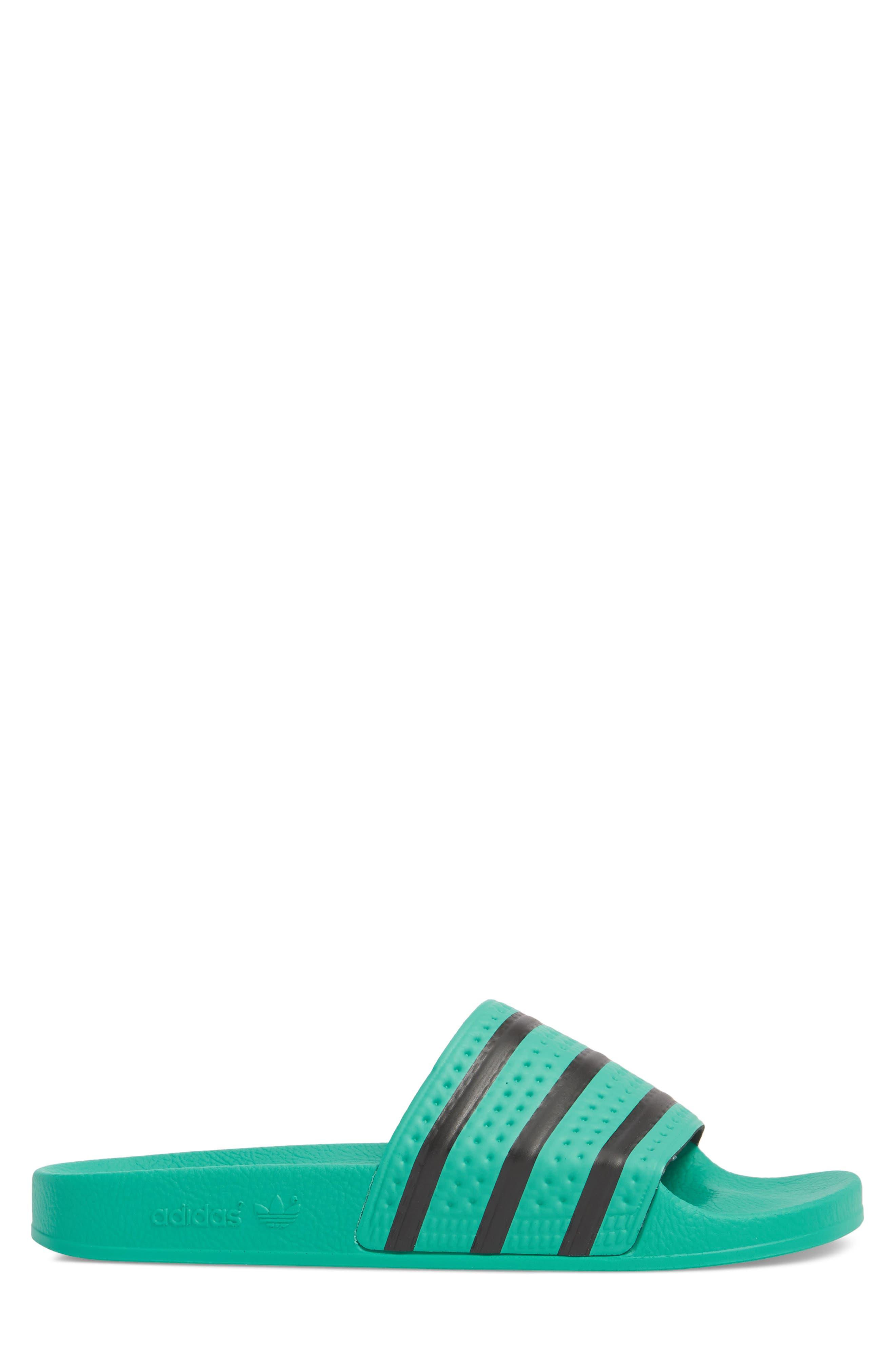 Adilette Slide Sandal,                             Alternate thumbnail 3, color,                             332