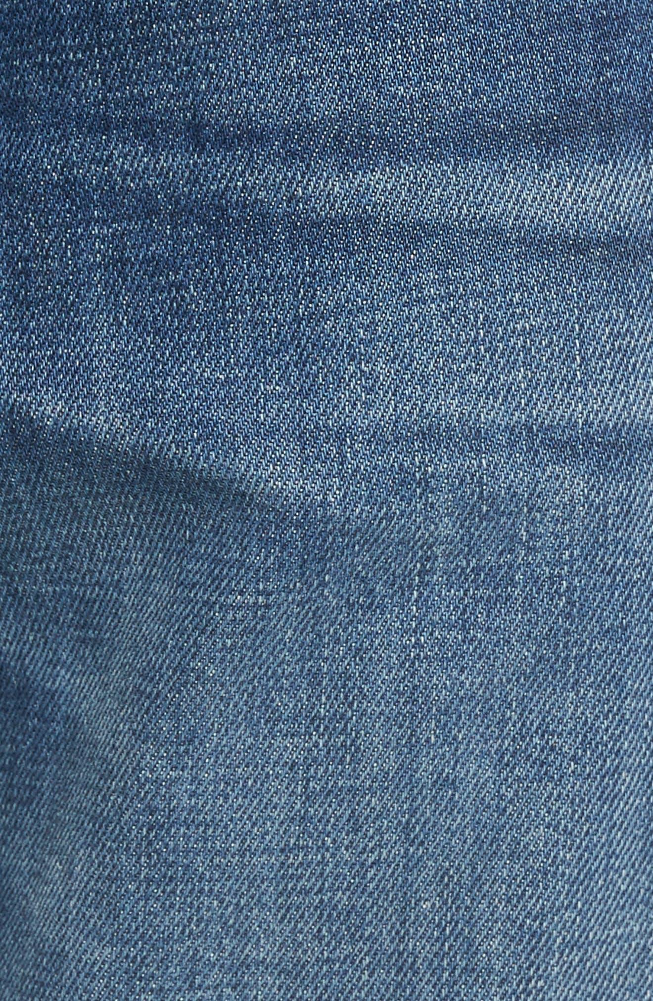 Adrien Slim Fit Jeans,                             Alternate thumbnail 5, color,                             403