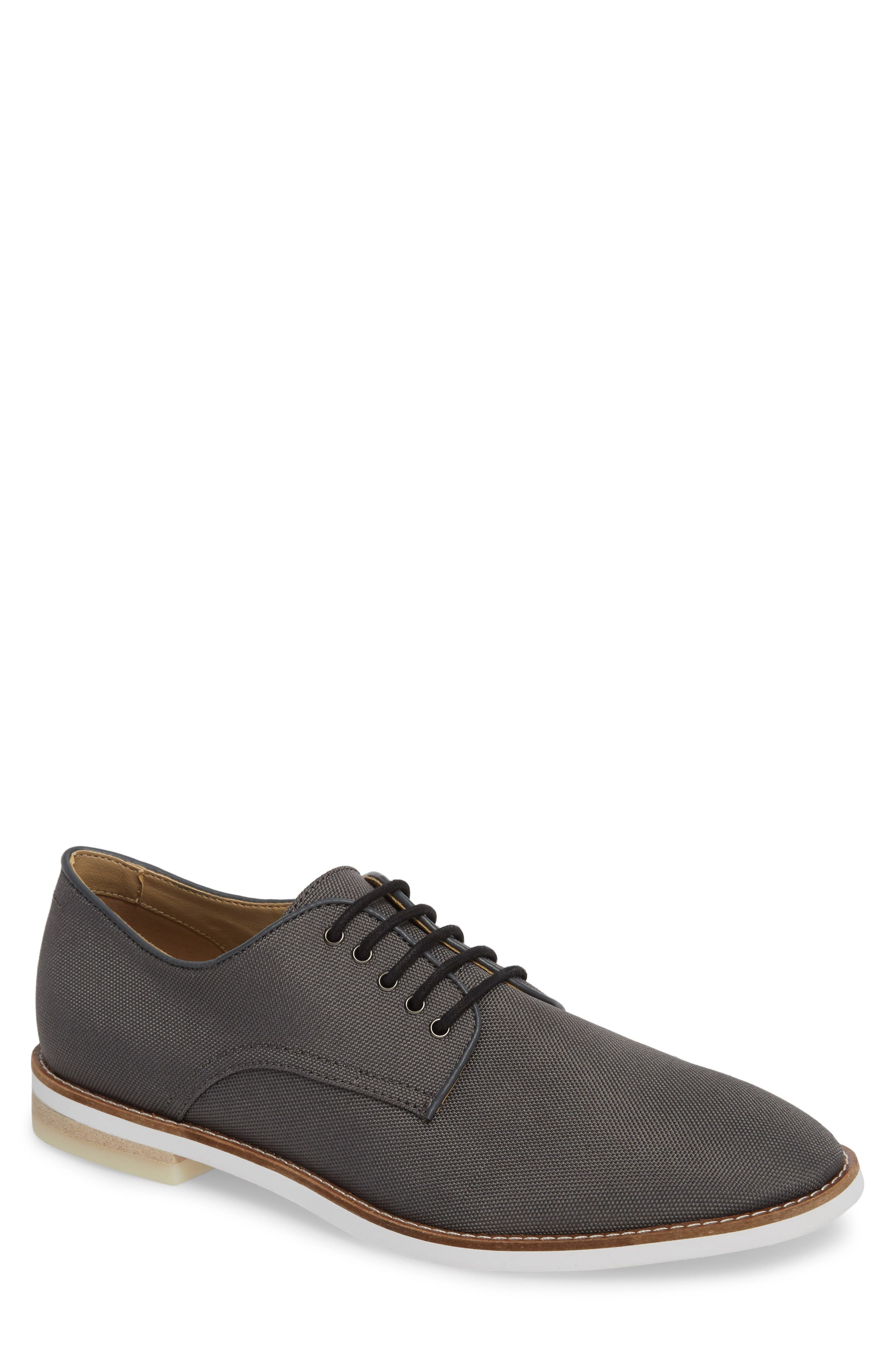 Atlee Plain Toe Derby,                         Main,                         color, GREY SYNTHETIC