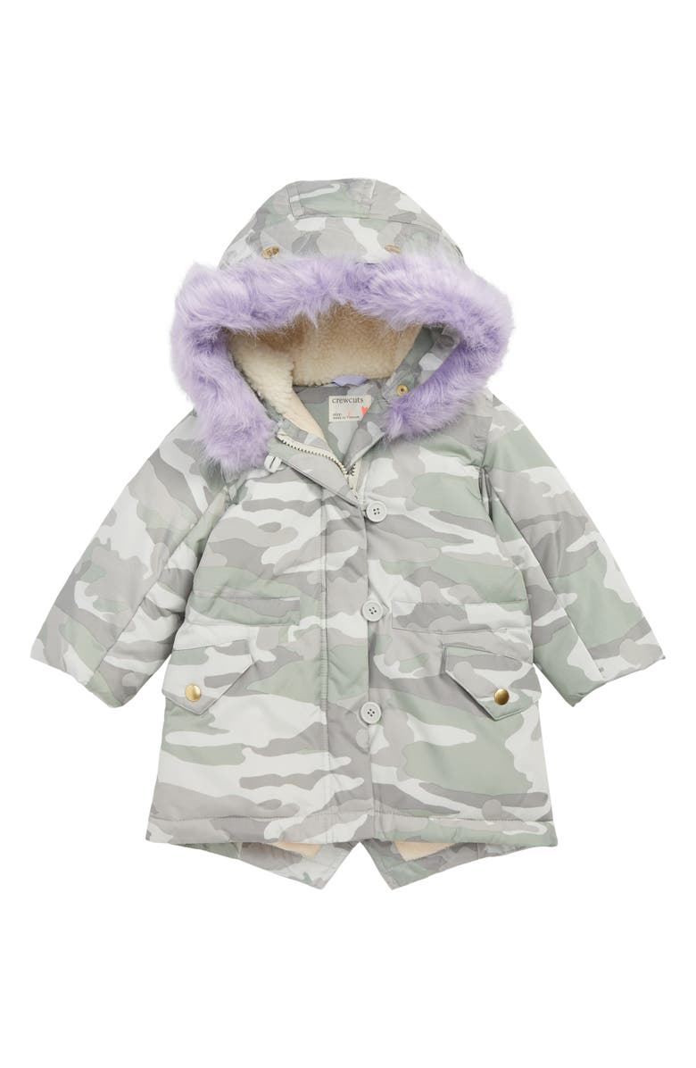 2fc38c53a565 crewcuts by J.Crew Primaloft® Camo Puffer Jacket with Removable Faux ...