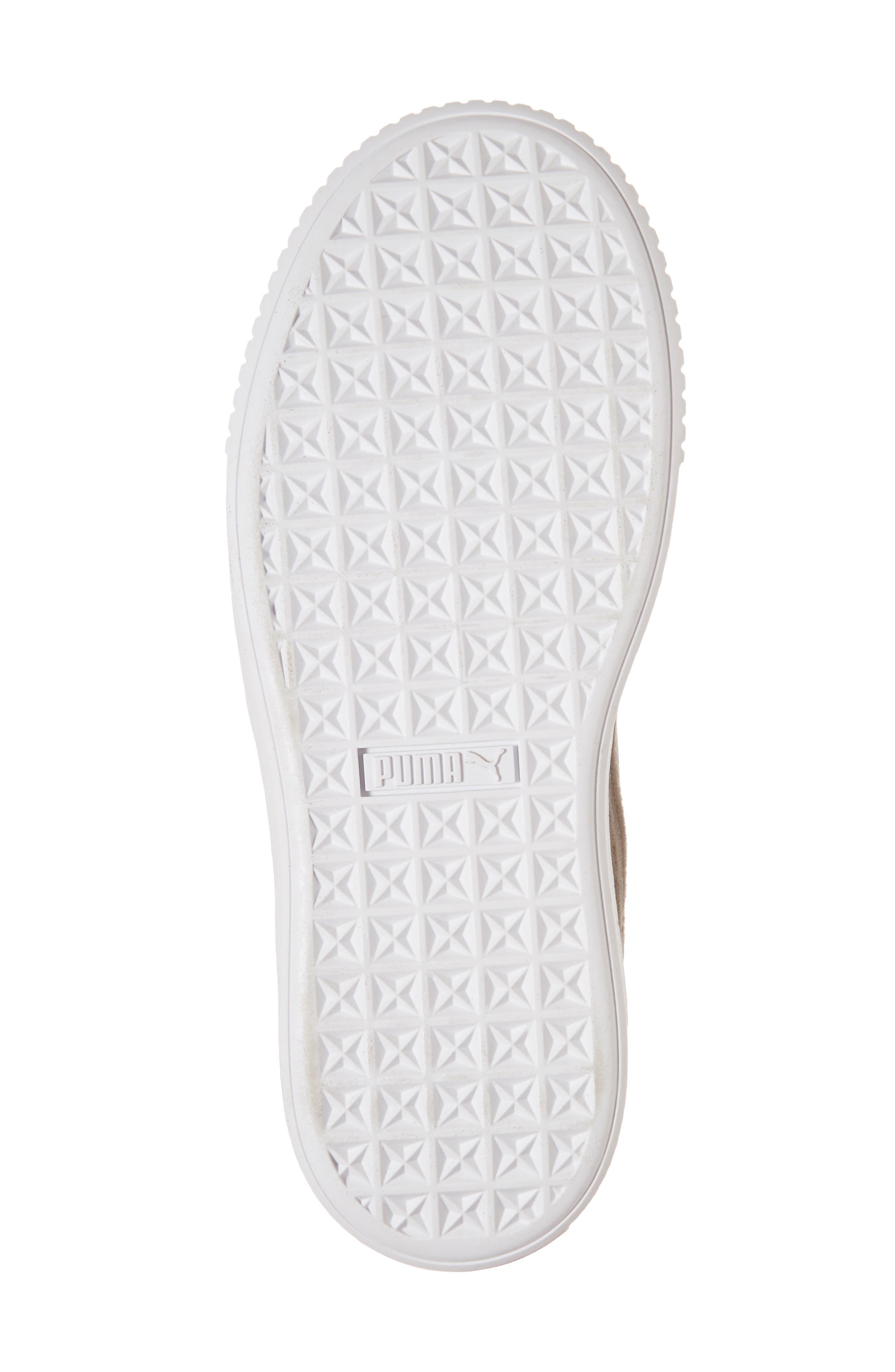 Platform Hyper Embroidered Sneaker,                             Alternate thumbnail 11, color,