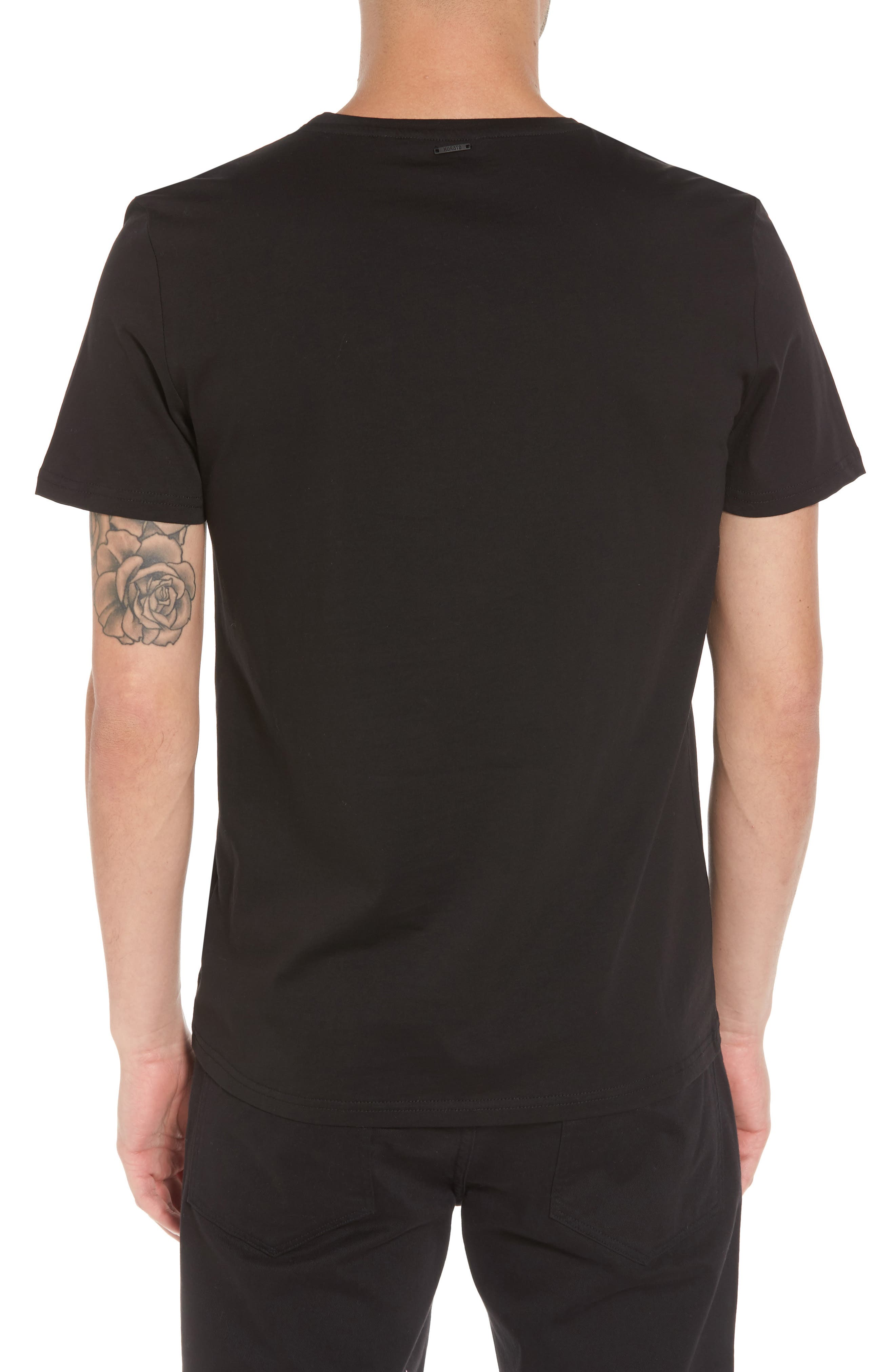 Mesh Pocket T-Shirt,                             Alternate thumbnail 2, color,                             001