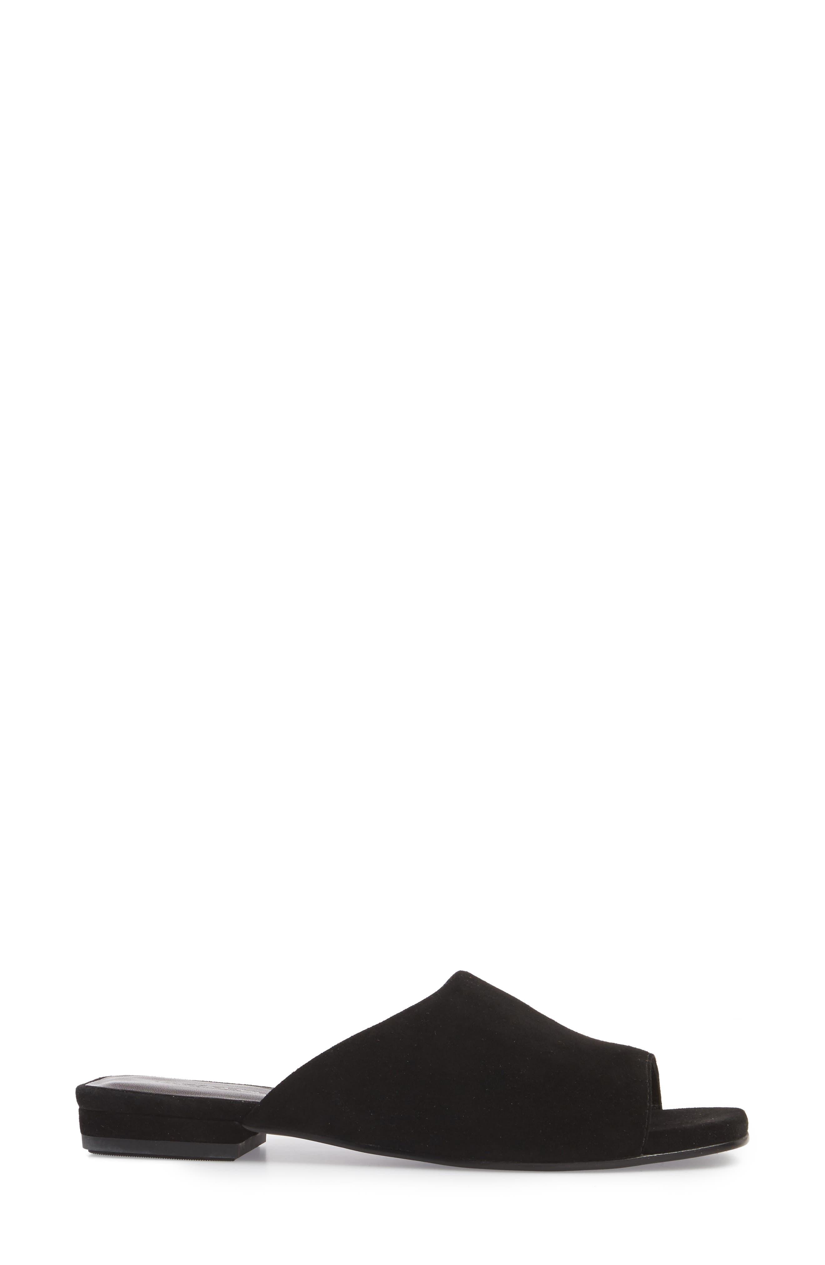 VAGABOND,                             Shoemakers Becky Slide Sandal,                             Alternate thumbnail 3, color,                             002