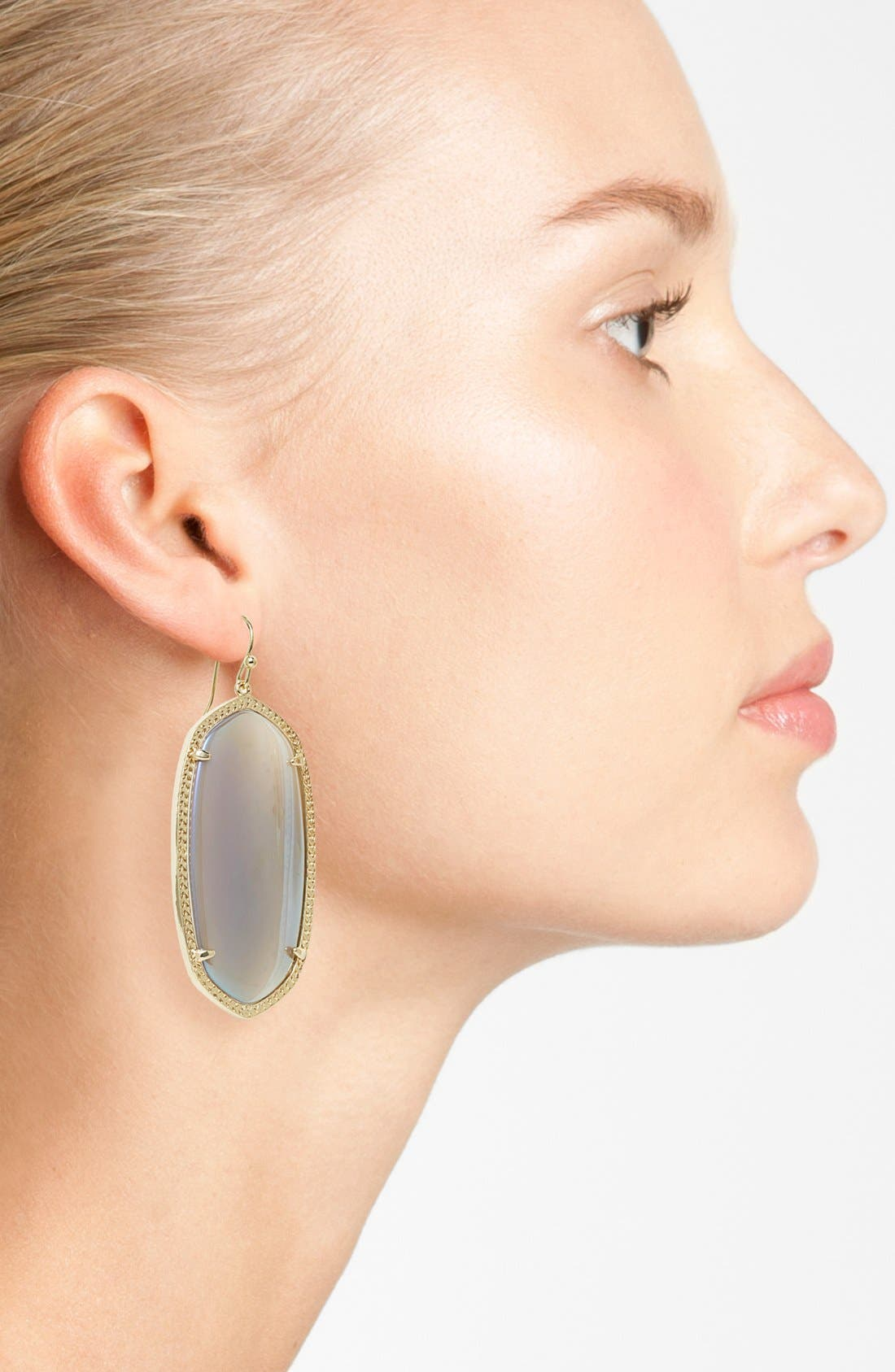 Danielle - Large Oval Statement Earrings,                             Alternate thumbnail 129, color,