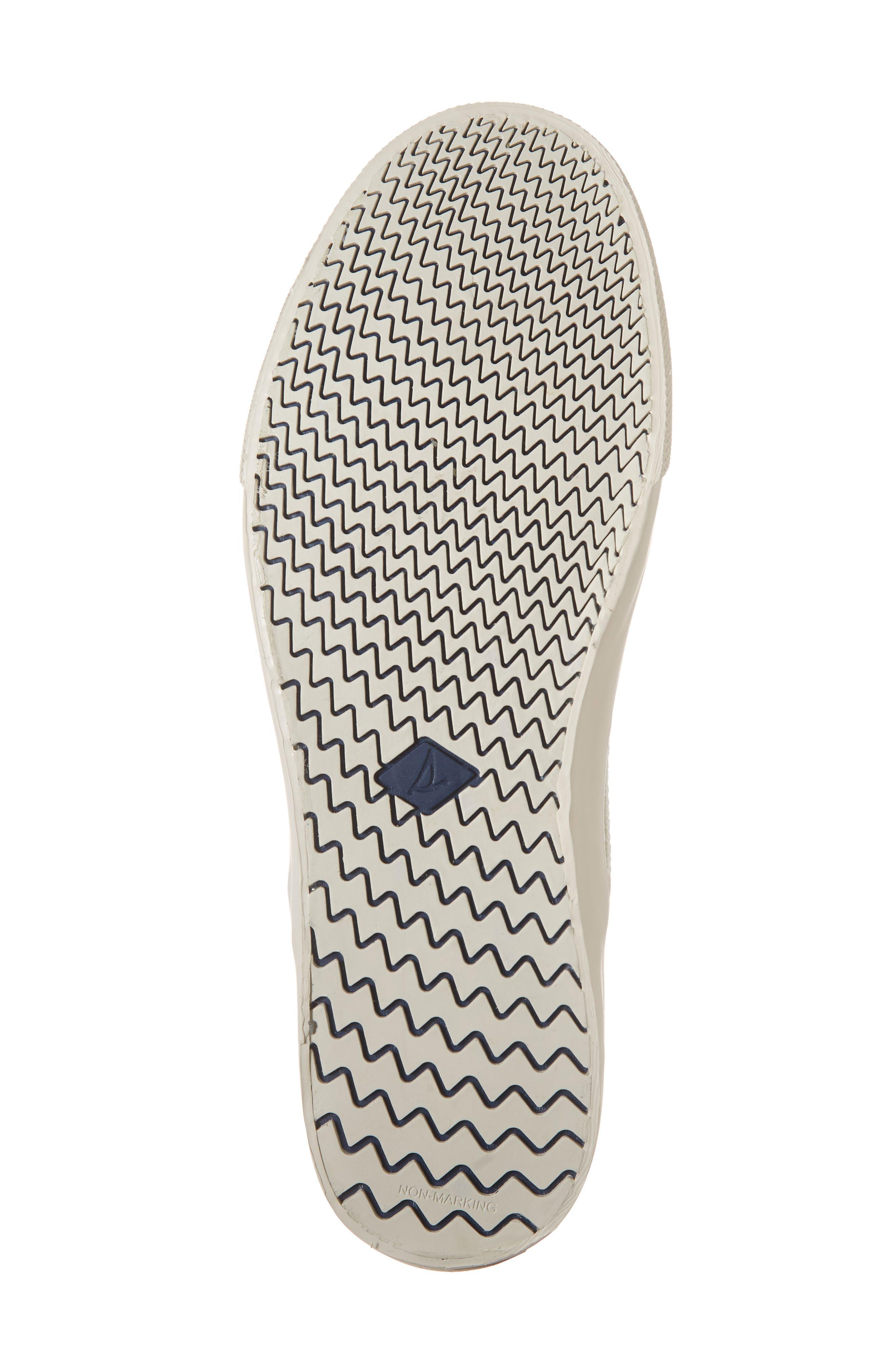 Striper II Slip-On Sneaker,                             Alternate thumbnail 6, color,                             WHITE
