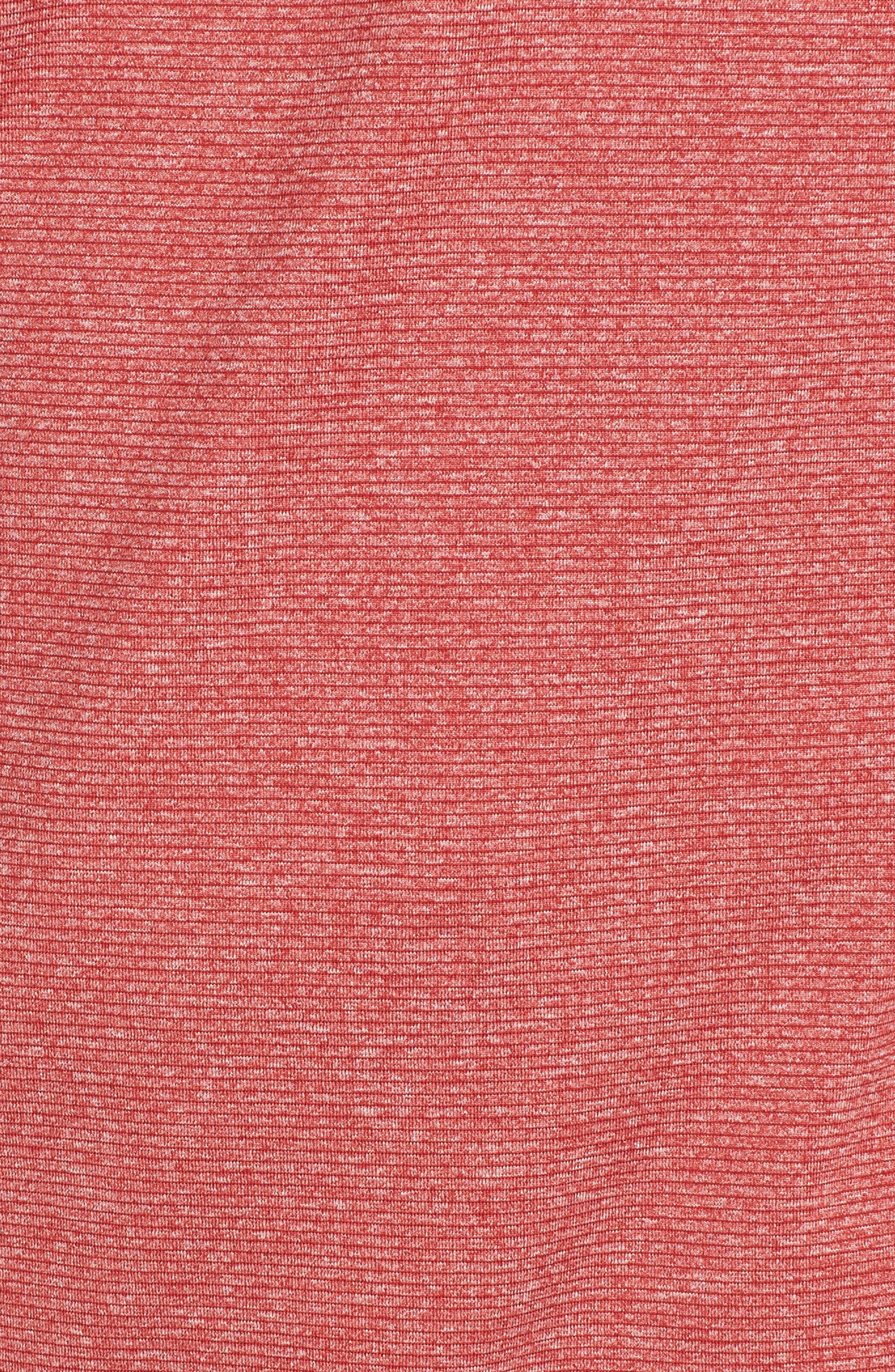 Shoreline - San Francisco 49ers Half Zip Pullover,                             Alternate thumbnail 5, color,                             615