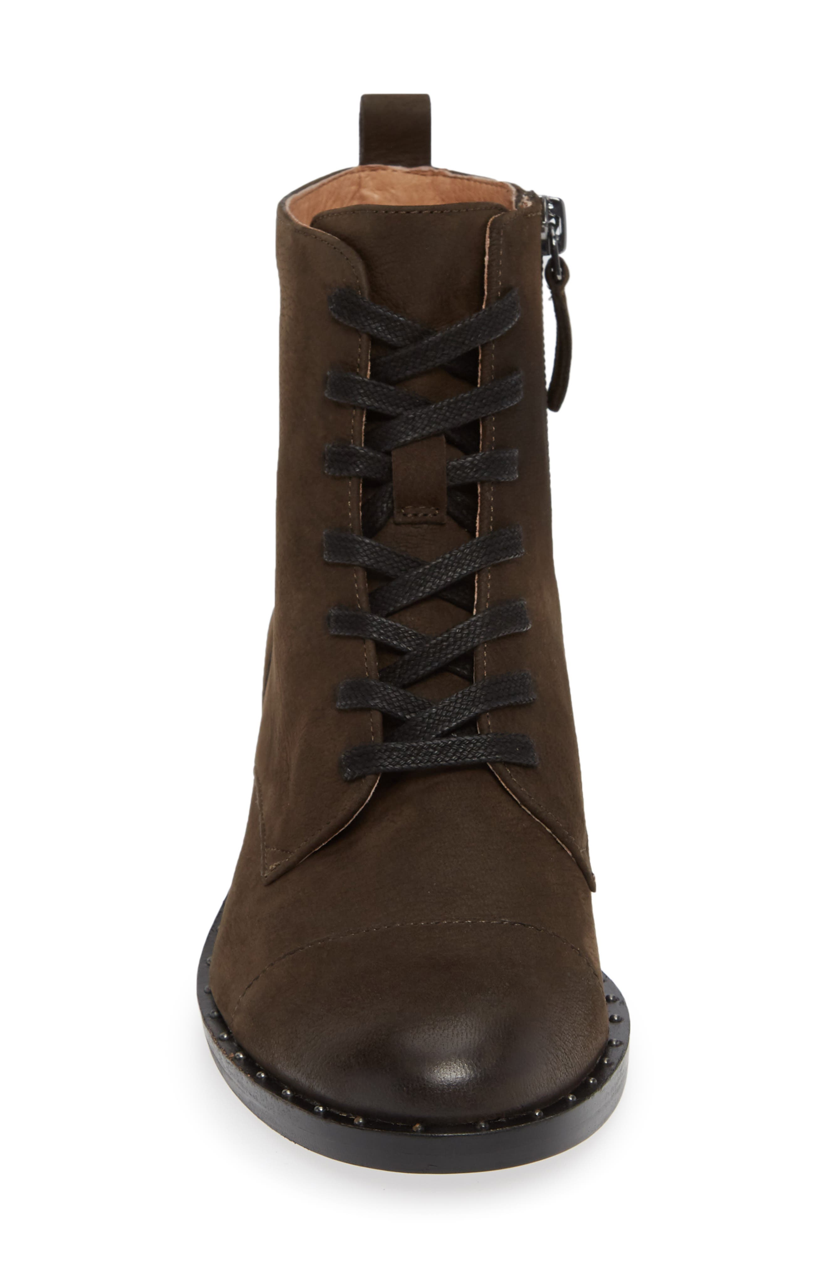 Layla Boot,                             Alternate thumbnail 4, color,                             ANTHRACITE LEATHER