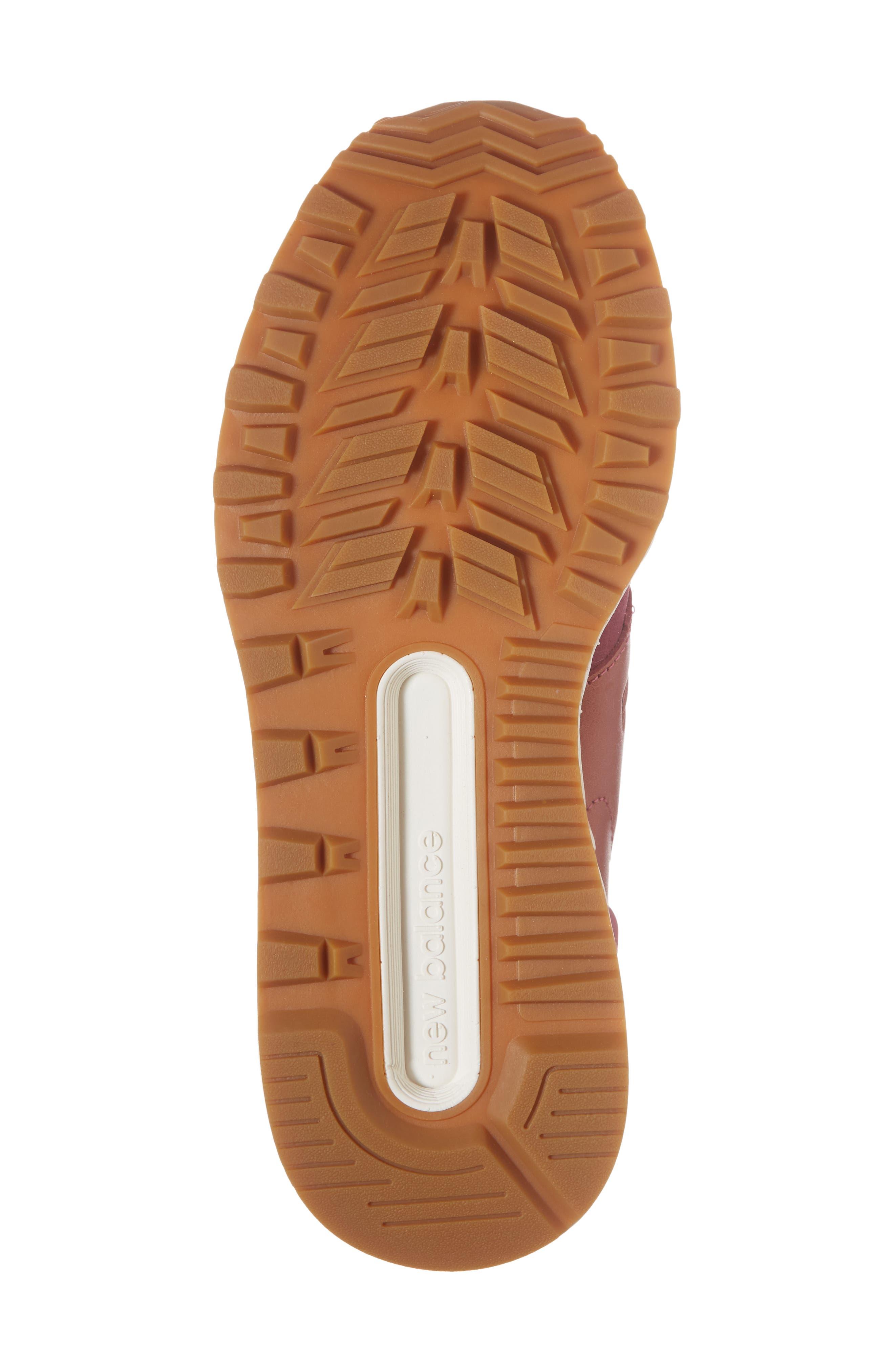 Nubuck 574 Sport Sneaker,                             Alternate thumbnail 6, color,