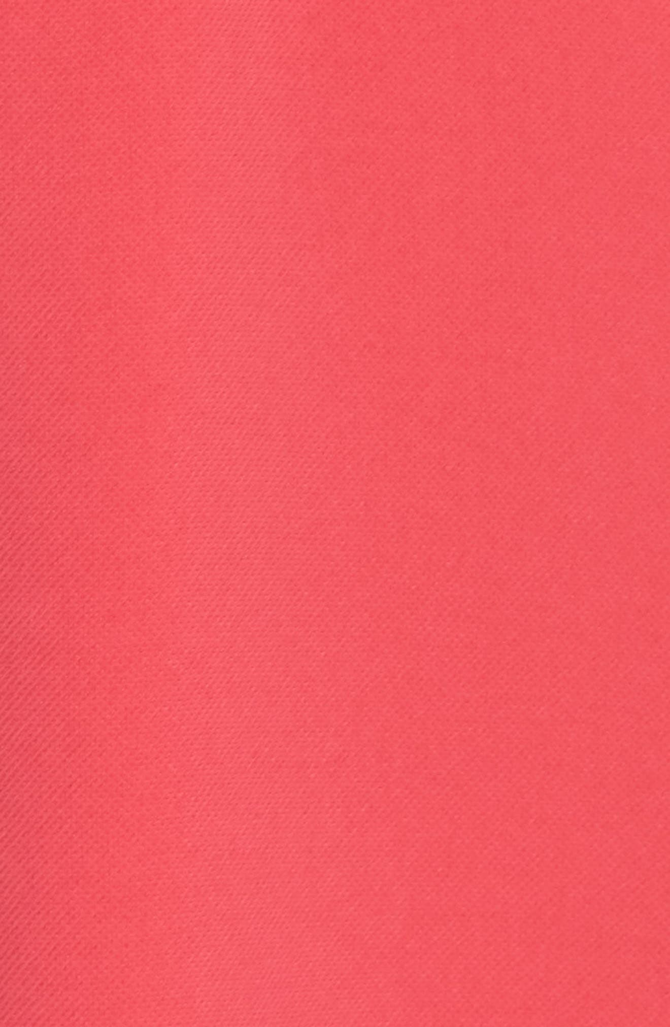 Crepe Popover High/Low Dress,                             Alternate thumbnail 6, color,                             654