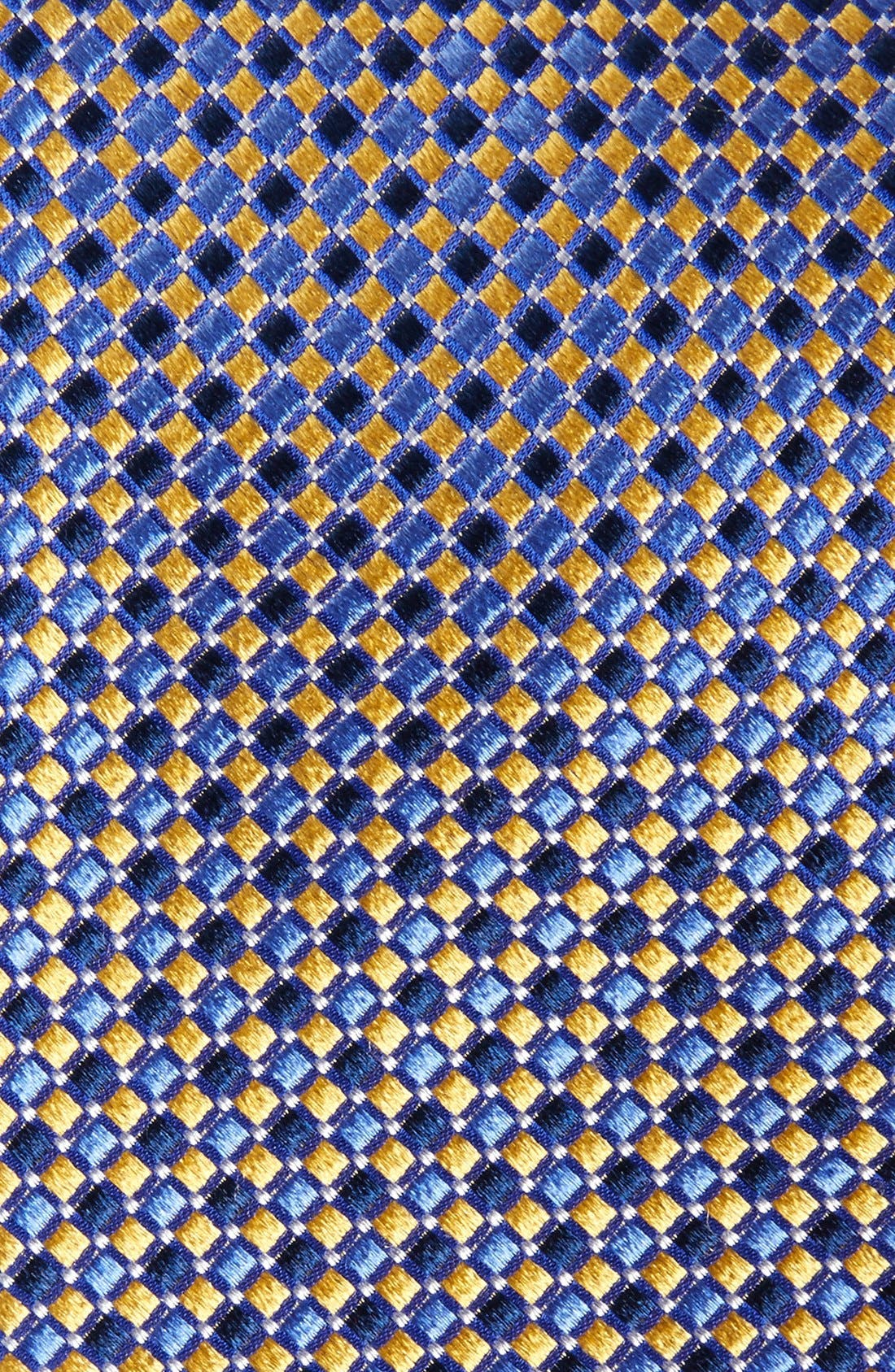 Geo Pattern Silk Tie,                             Alternate thumbnail 21, color,