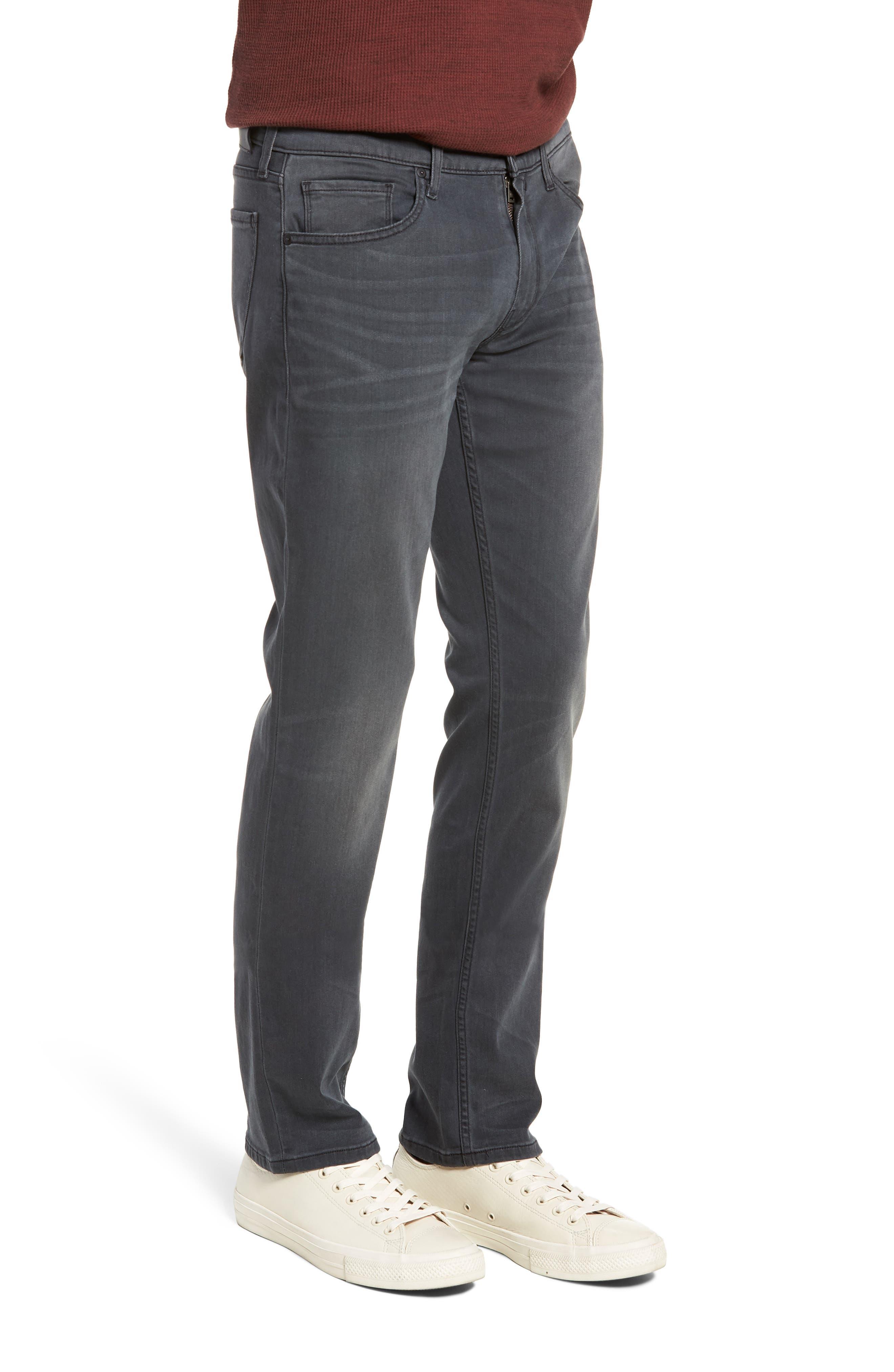Transcend - Federal Slim Straight Leg Jeans,                             Alternate thumbnail 3, color,                             SHELDON