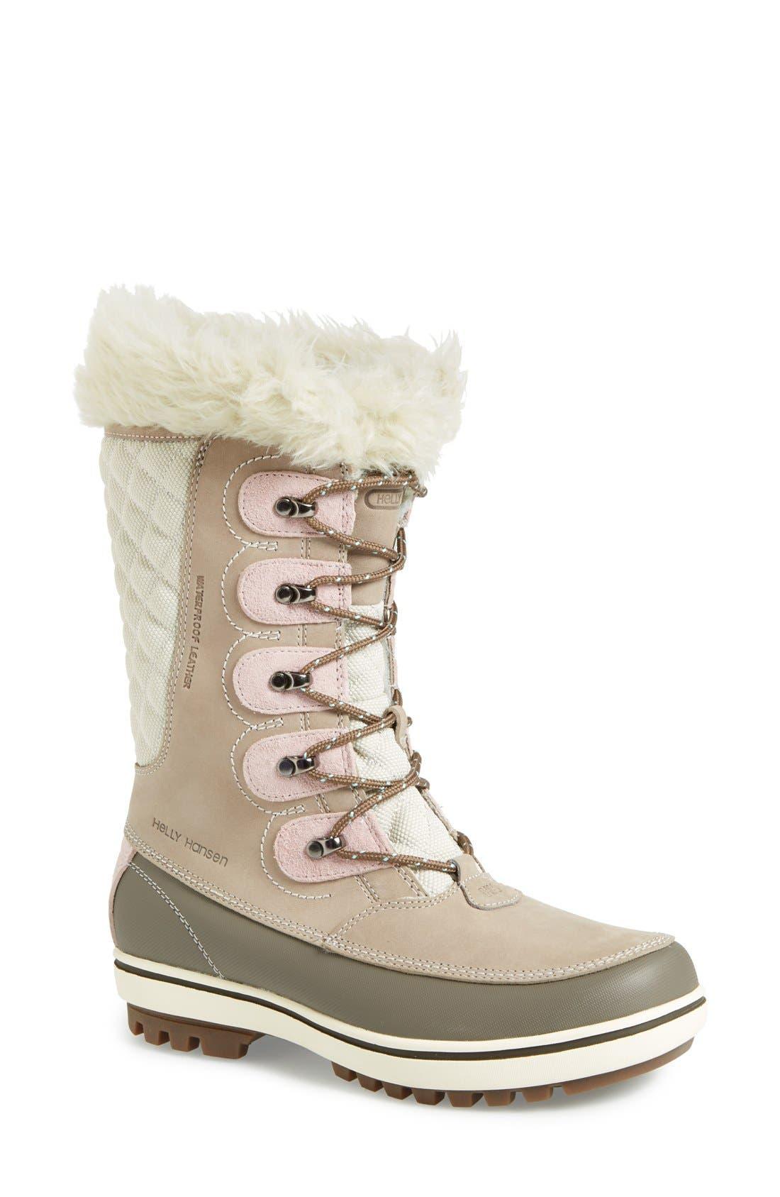 'Garibaldi' Waterproof Snow Boot,                             Main thumbnail 1, color,                             097