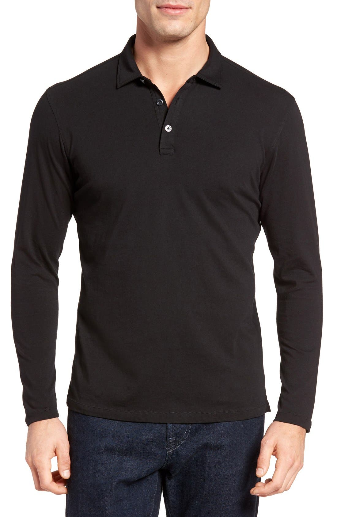 'Banff' Regular Fit Polo,                         Main,                         color, 001