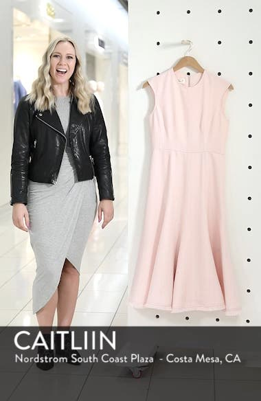 Fringe Hem A-Line Dress, sales video thumbnail