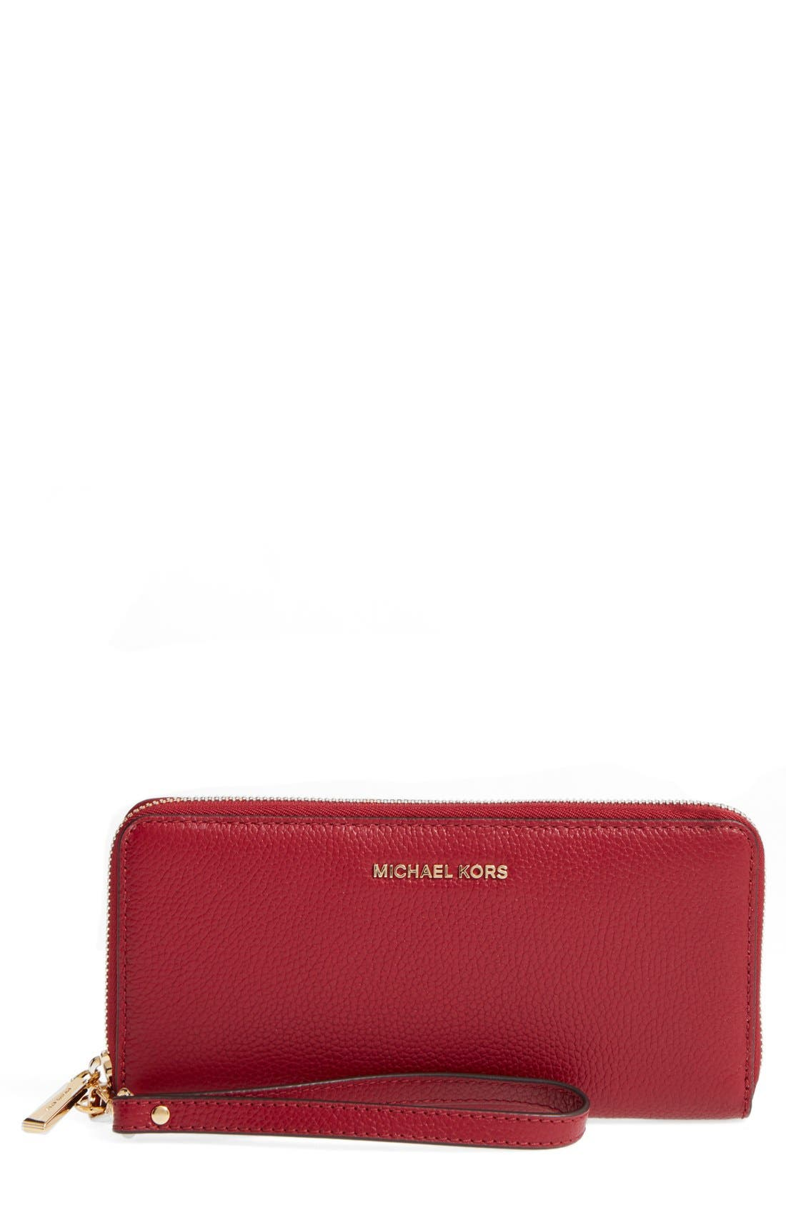 'Mercer' Leather Continental Wallet,                             Main thumbnail 8, color,