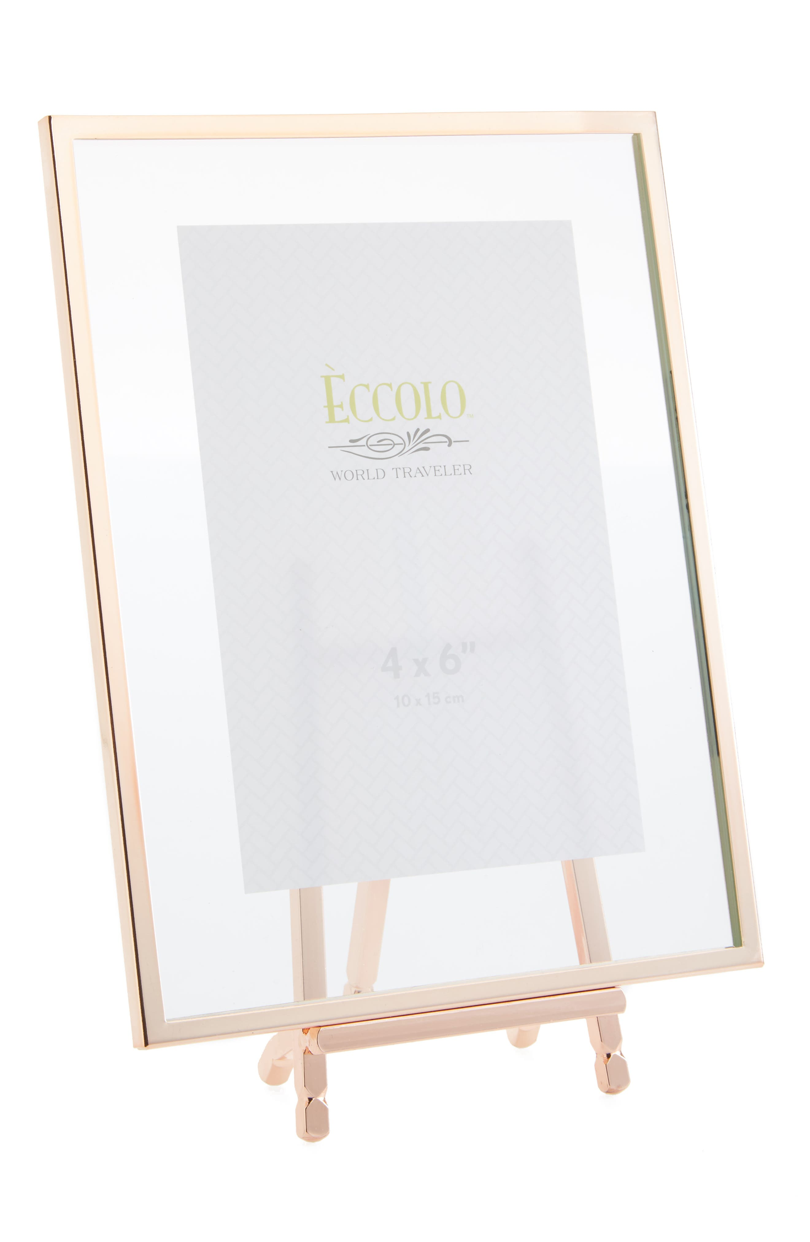 Copper Easel Picture Frame,                         Main,                         color, 220