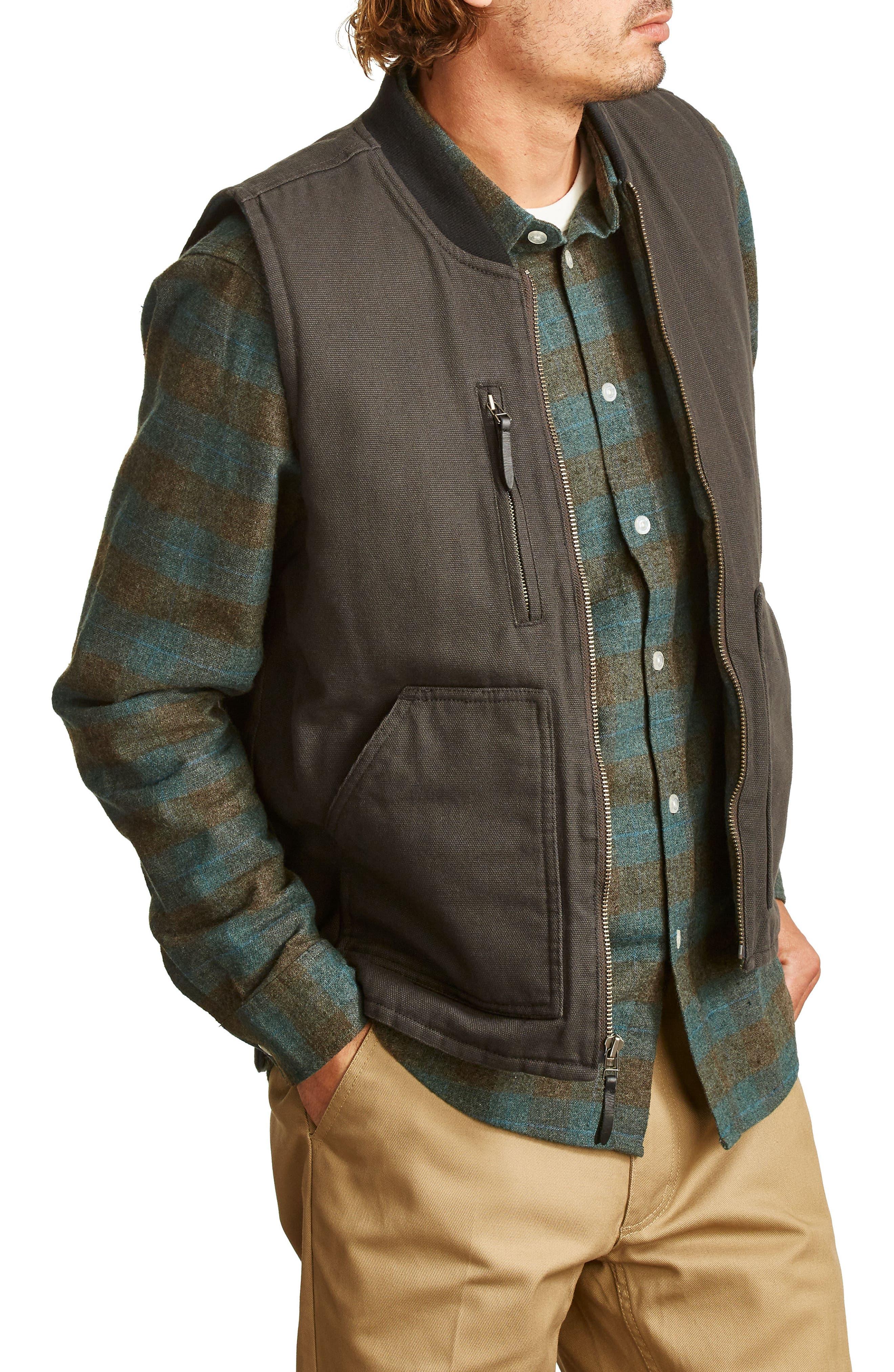 Abraham Water Resistant Vest,                             Alternate thumbnail 3, color,                             050