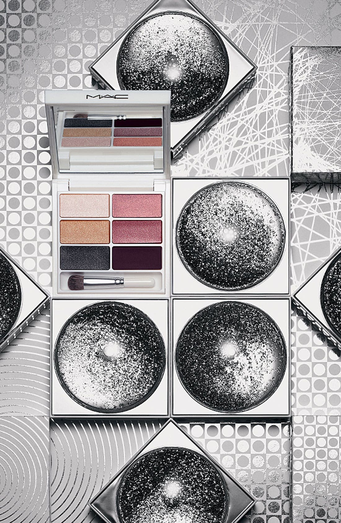 M·A·C 'Snowglobe - Cool' Eyeshadow,                             Alternate thumbnail 2, color,                             000