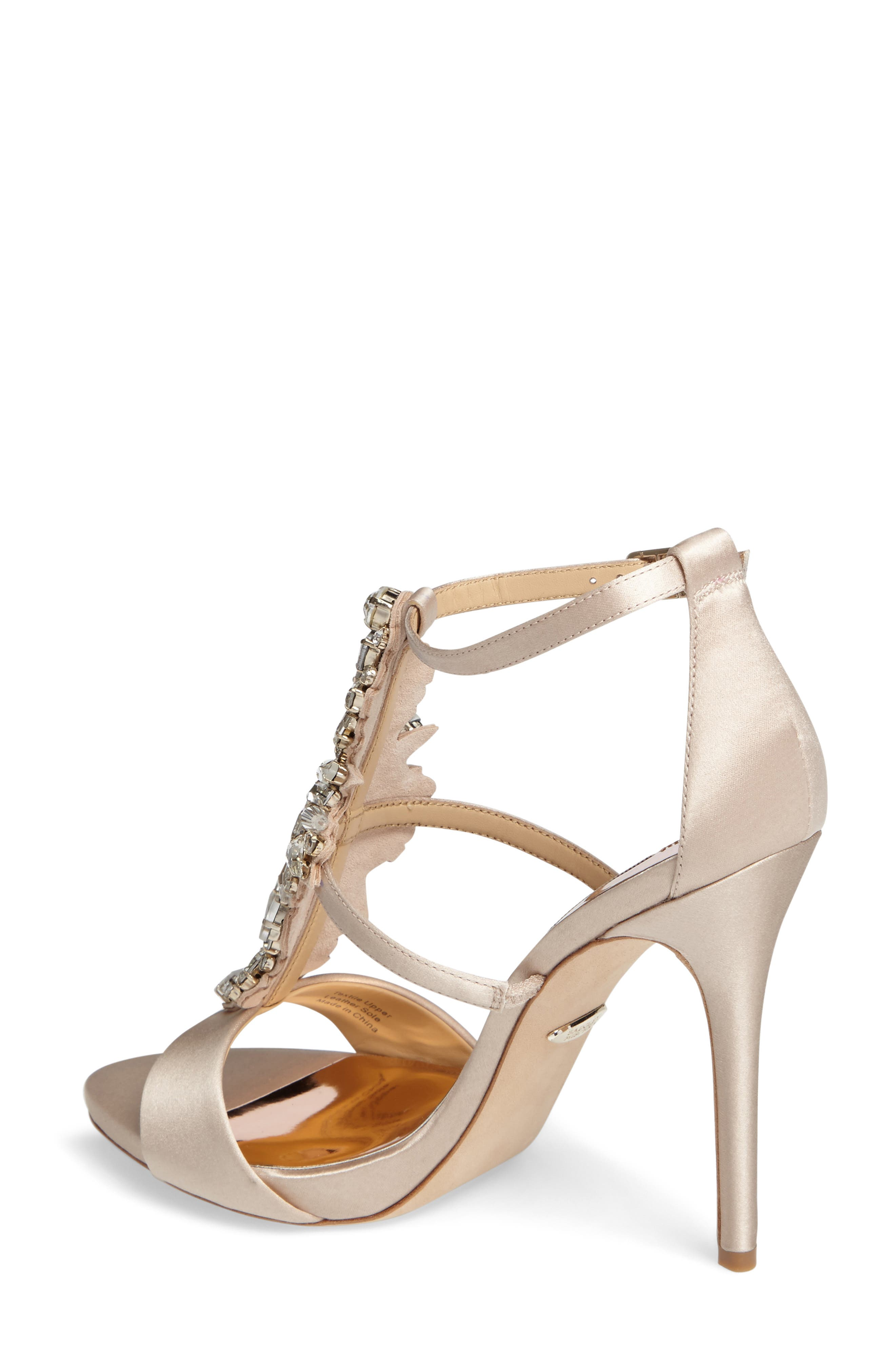 Badgley Mischka Basile Crystal Embellished Sandal,                             Alternate thumbnail 2, color,                             250