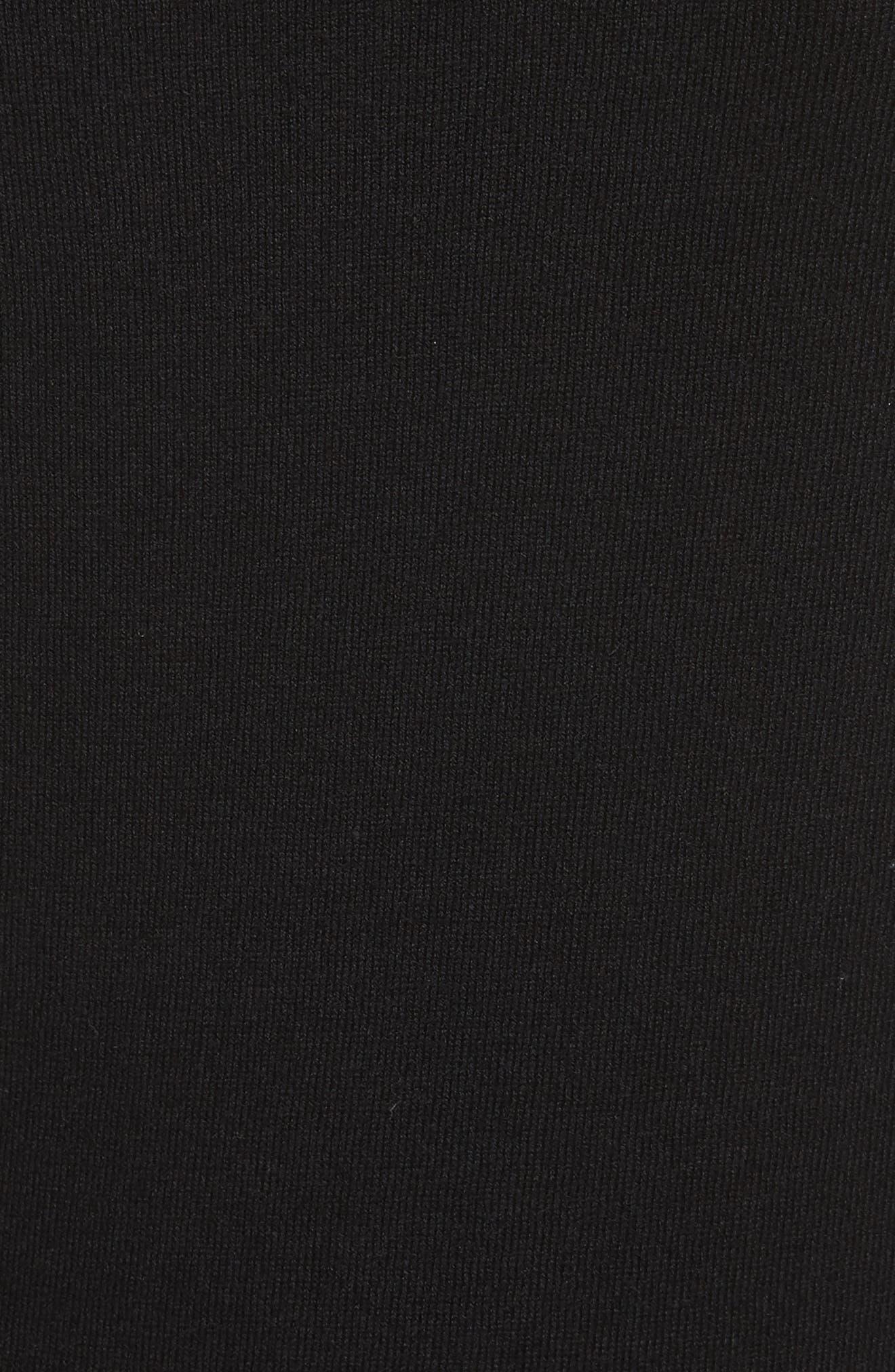 Sparkle Bow Sweater,                             Alternate thumbnail 5, color,                             001