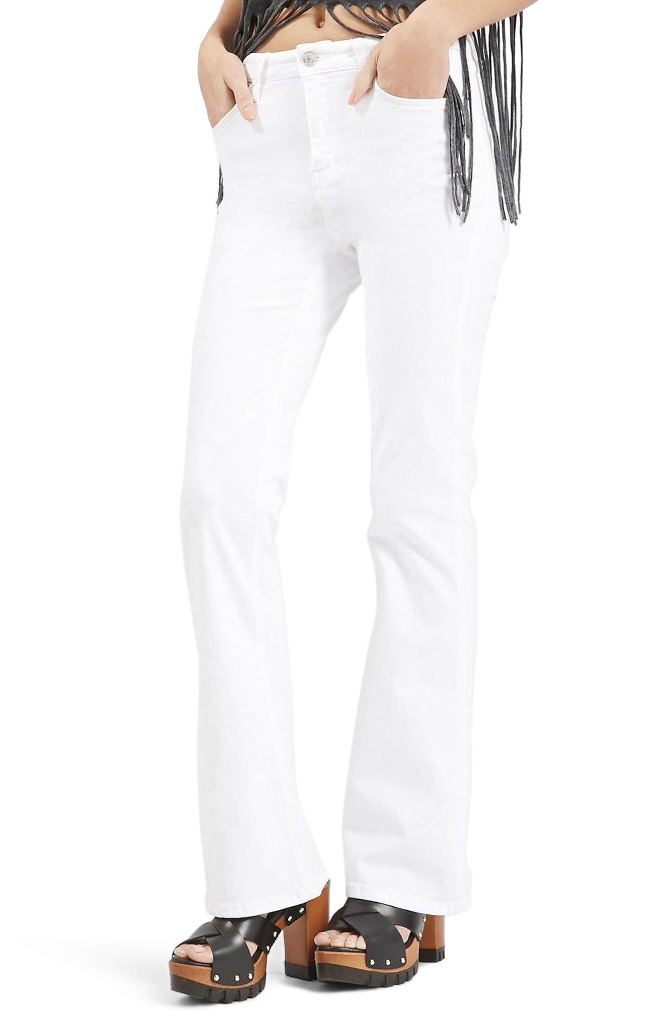 Jamie Flare Jeans,                             Alternate thumbnail 6, color,
