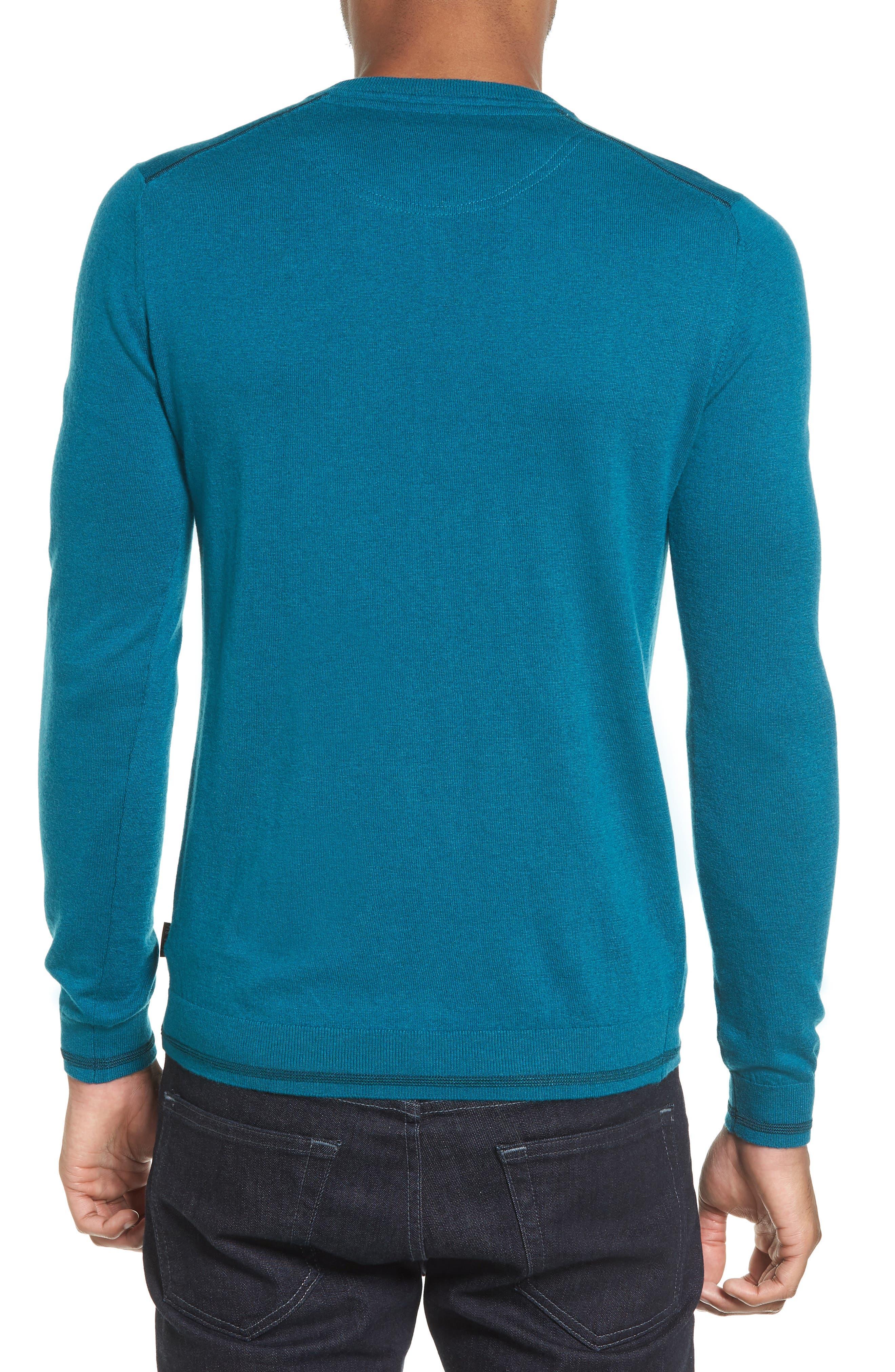 V-Neck Sweater,                             Alternate thumbnail 7, color,