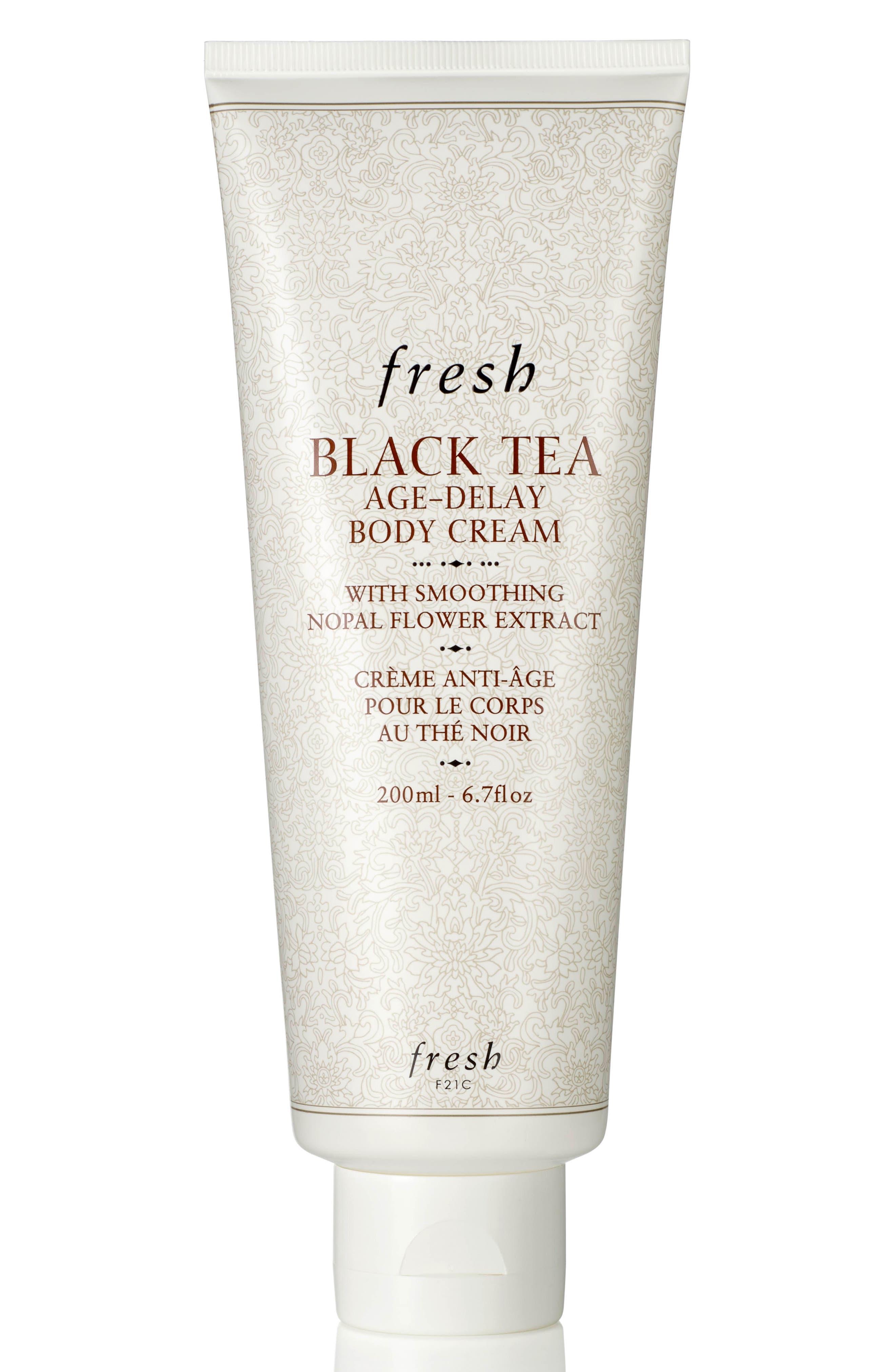 Black Tea Age-Delay Body Cream,                             Main thumbnail 1, color,                             NO COLOR
