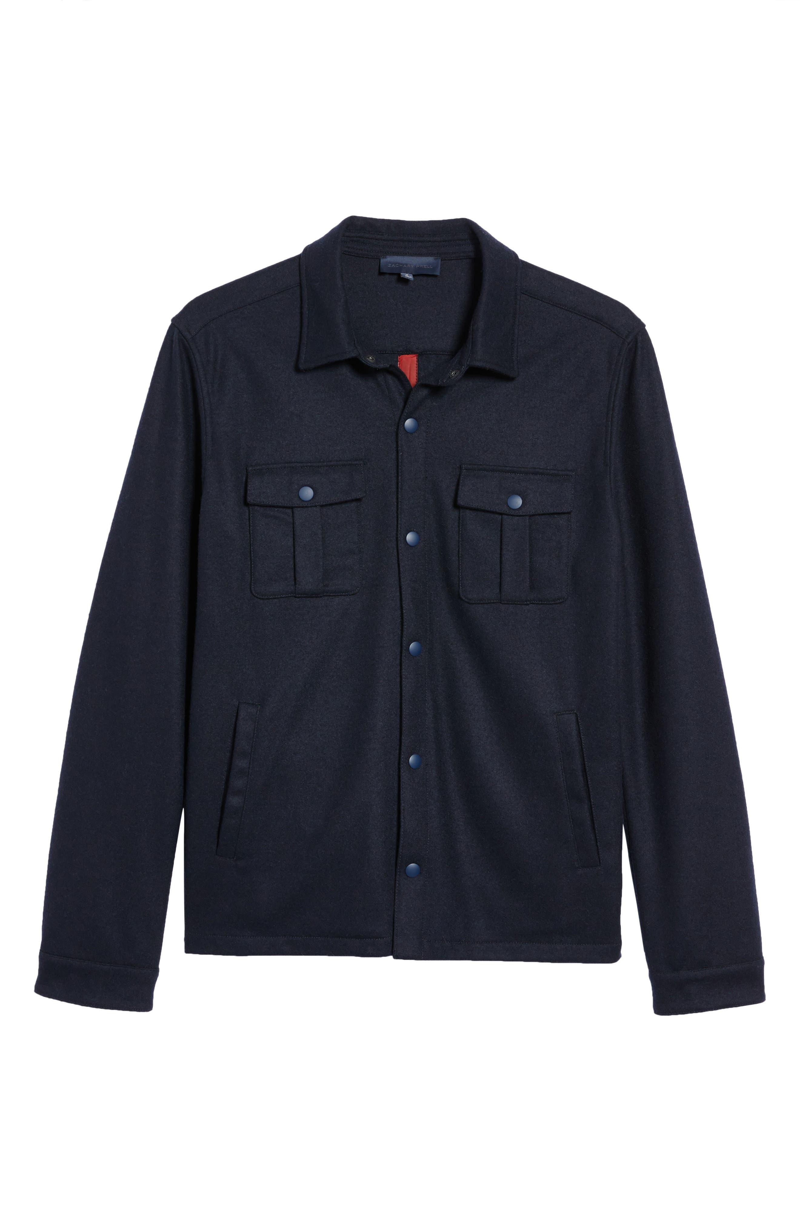 Seymour Shirt Jacket,                             Alternate thumbnail 5, color,                             410
