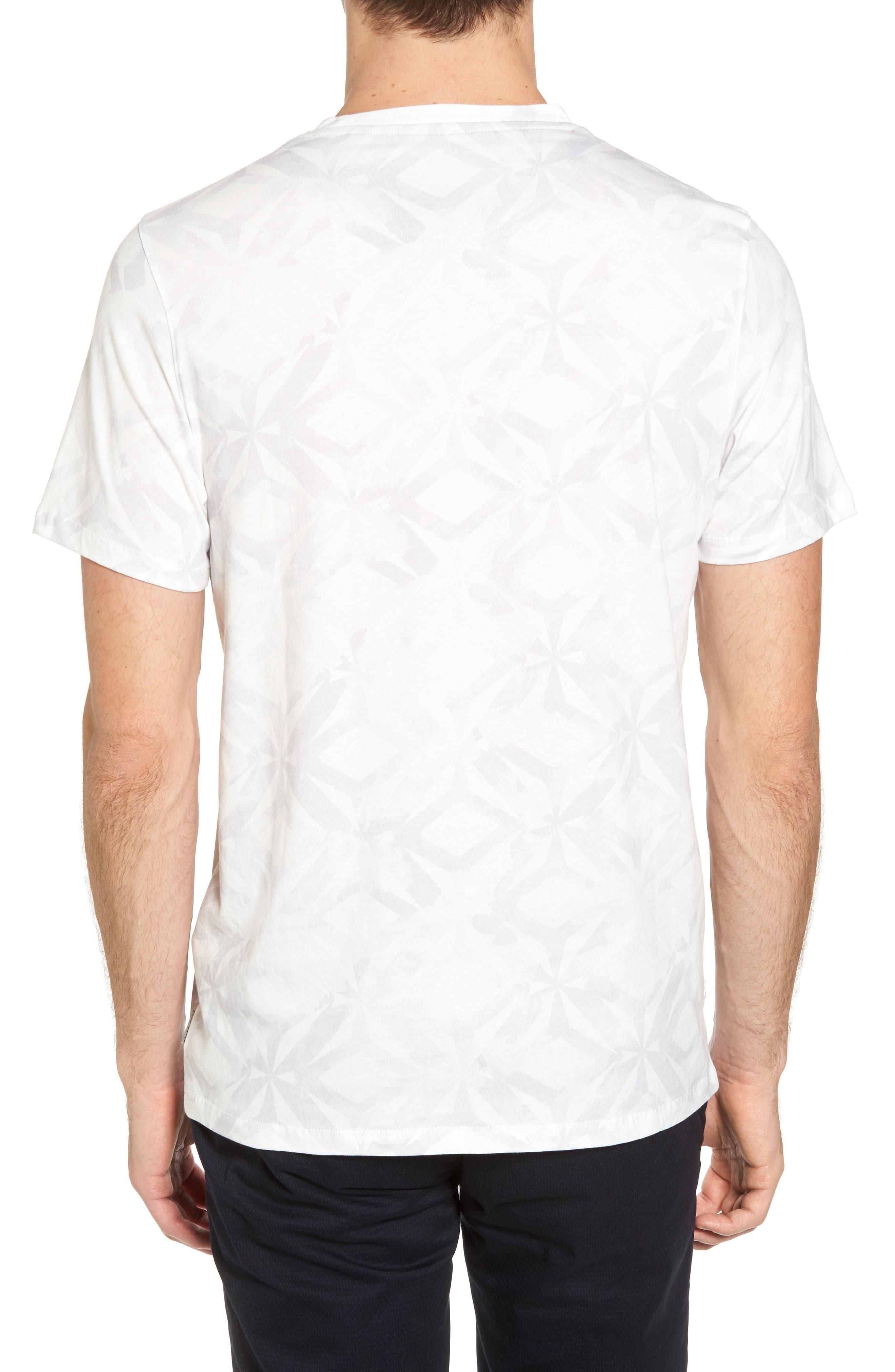 Woof Batik Print T-Shirt,                             Alternate thumbnail 2, color,                             110