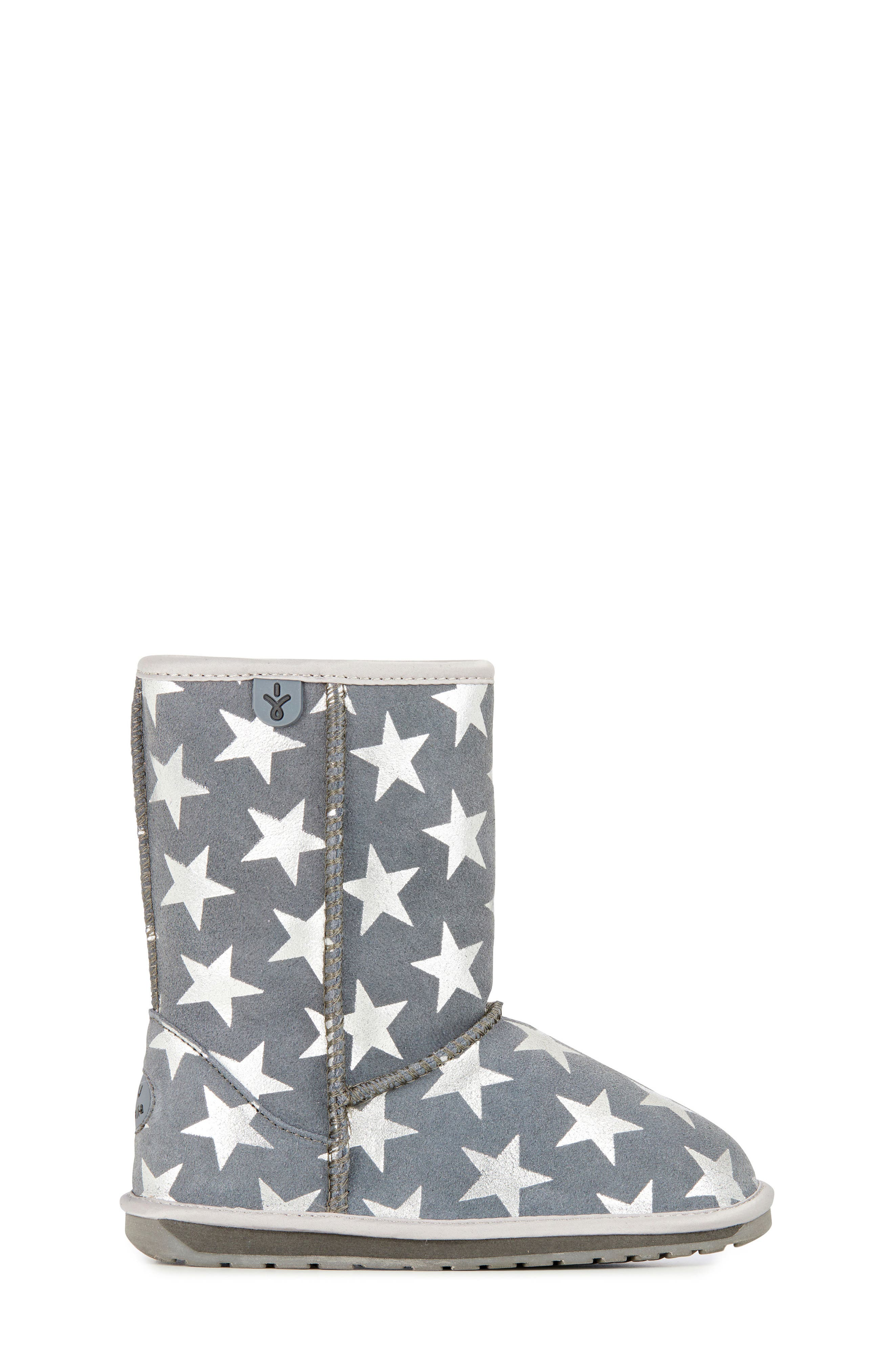 EMUAustralia Starry Night Boot,                             Alternate thumbnail 3, color,                             CHARCOAL