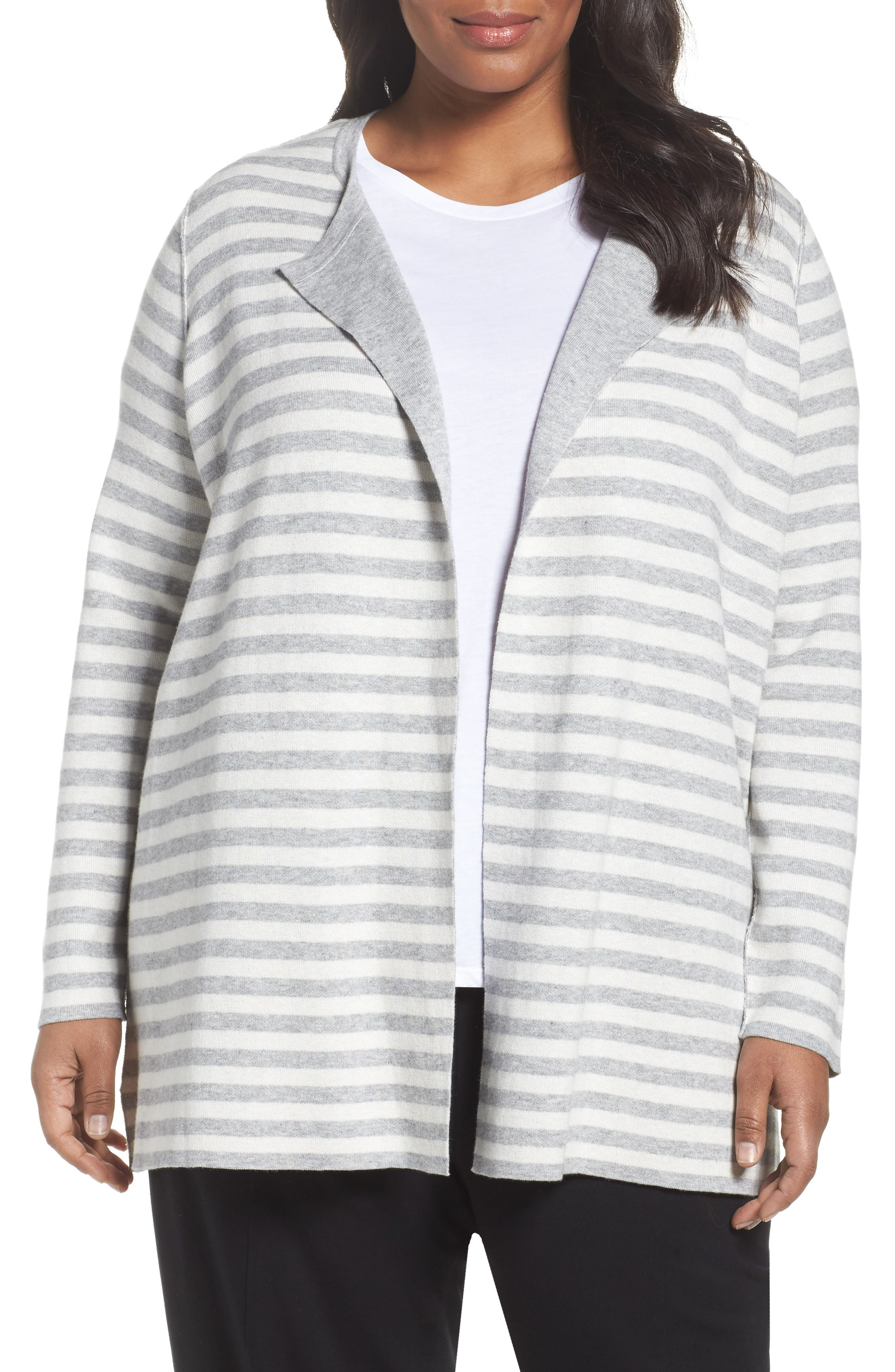 Reversible Organic Cotton Blend Cardigan,                         Main,                         color, 500