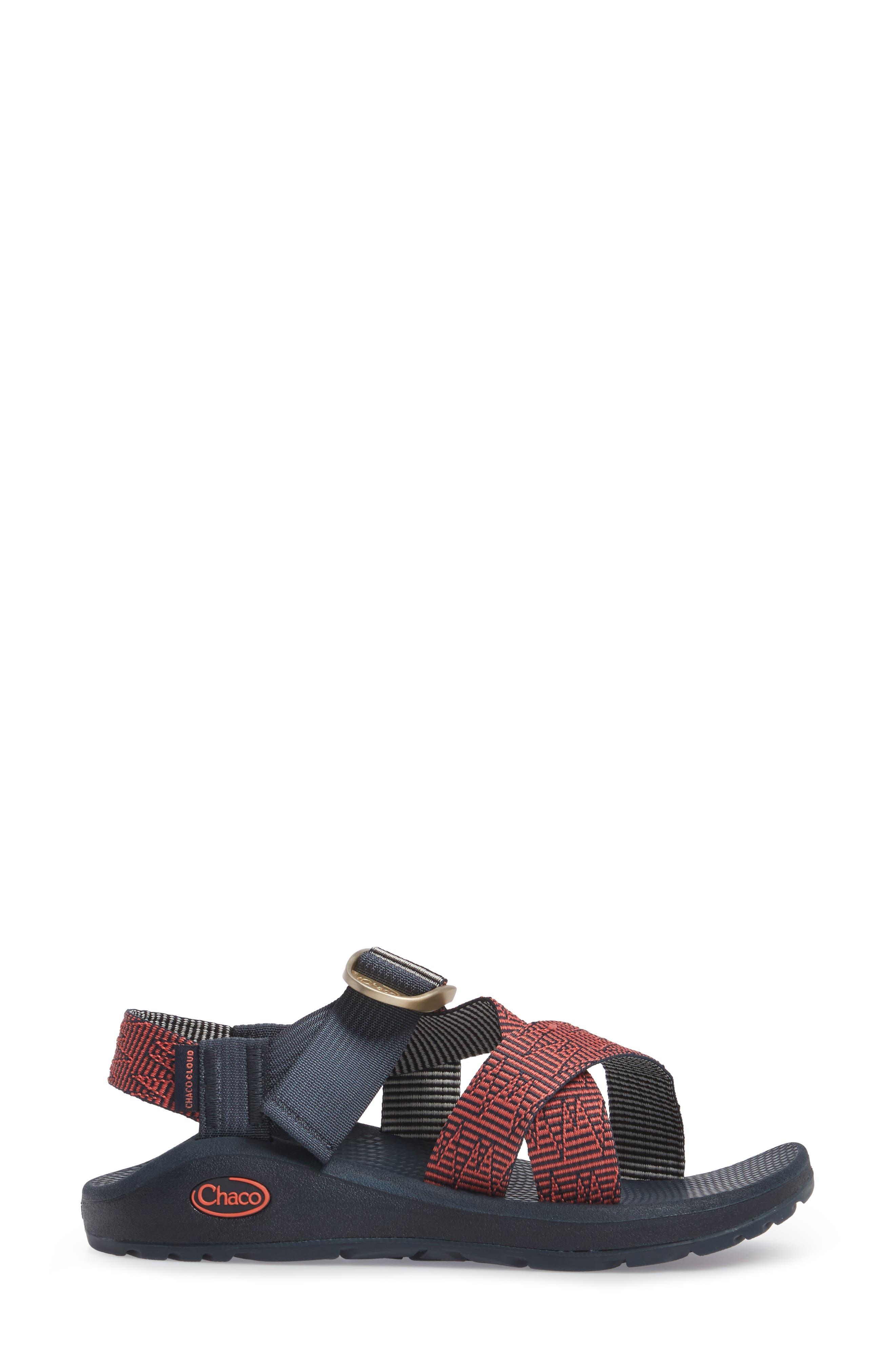 Mega Z/Cloud Sport Sandal,                             Alternate thumbnail 3, color,                             BLAZER NAVY
