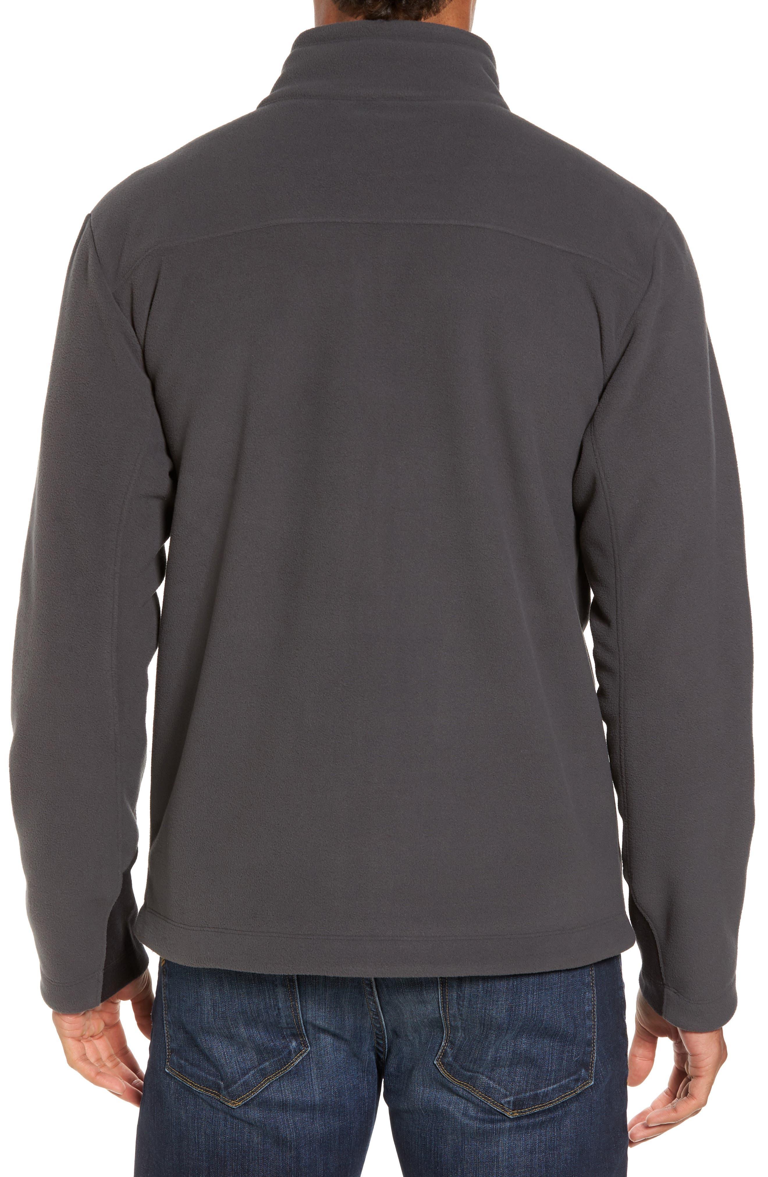 'Chimborazo' Zip Front Fleece Jacket,                             Alternate thumbnail 18, color,