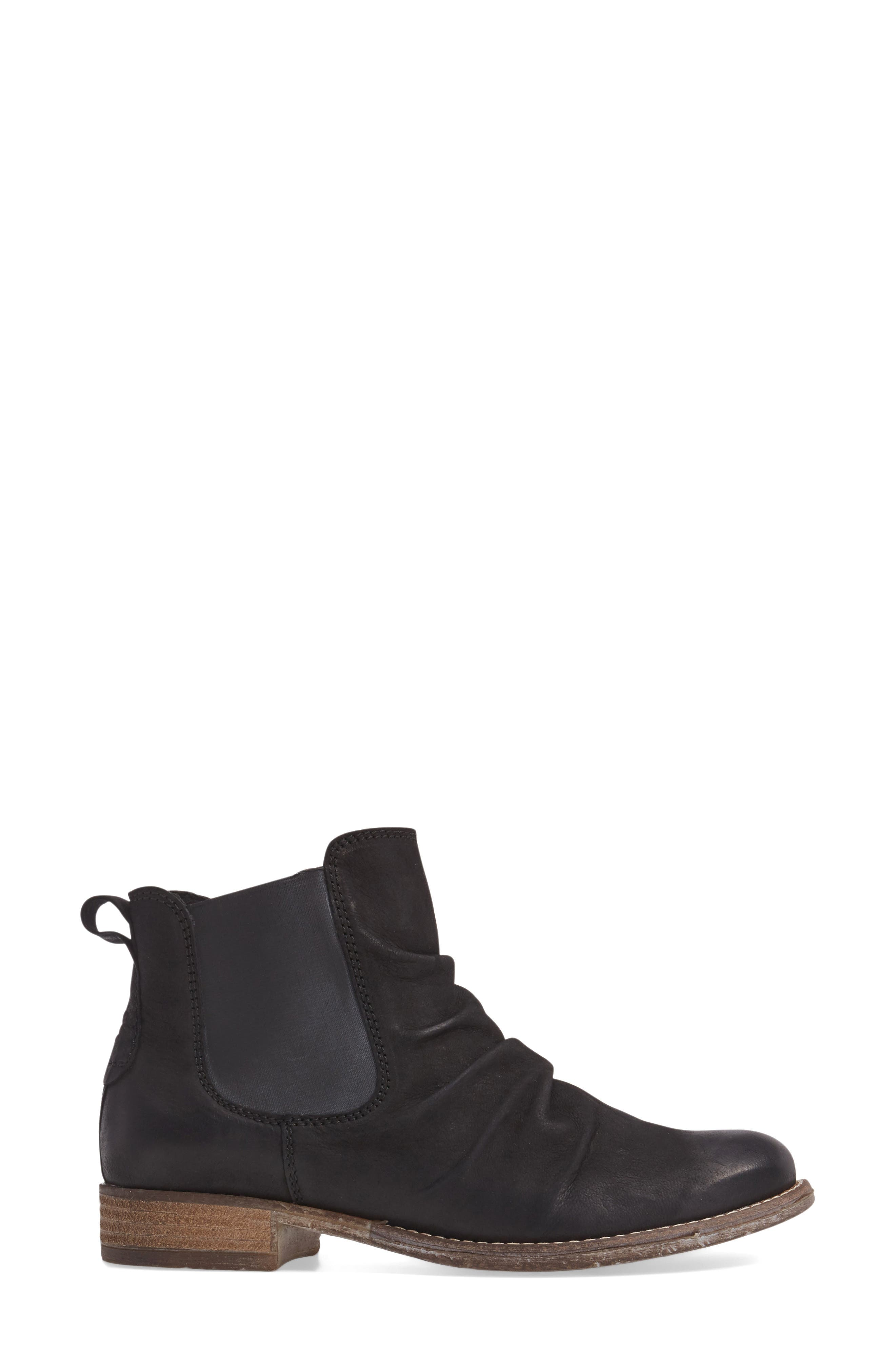 Sienna 59 Slouchy Chelsea Bootie,                             Alternate thumbnail 3, color,                             004