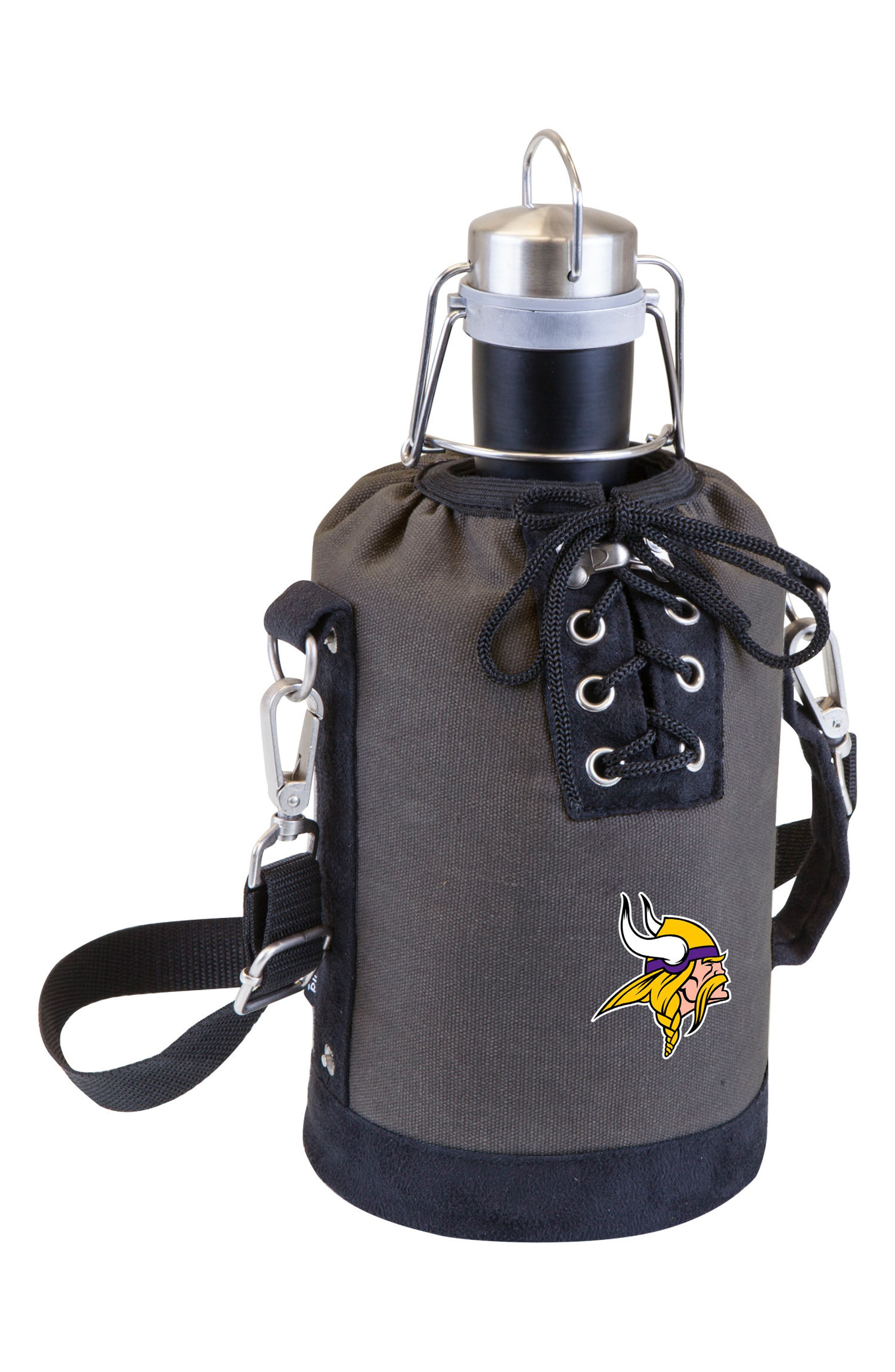 NFL Team Logo Tote & Stainless Steel Growler,                             Main thumbnail 18, color,