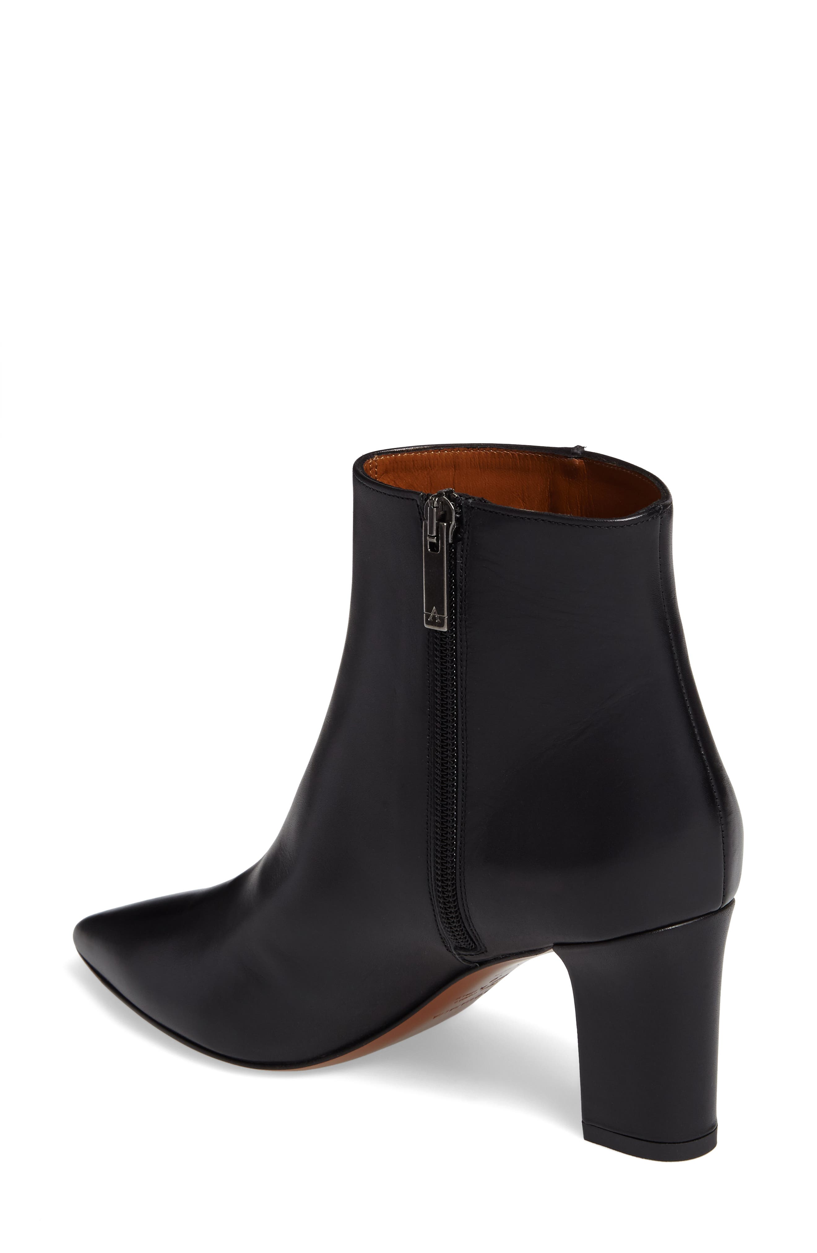 Maia Weatherproof Pointed Toe Bootie,                             Alternate thumbnail 2, color,                             002