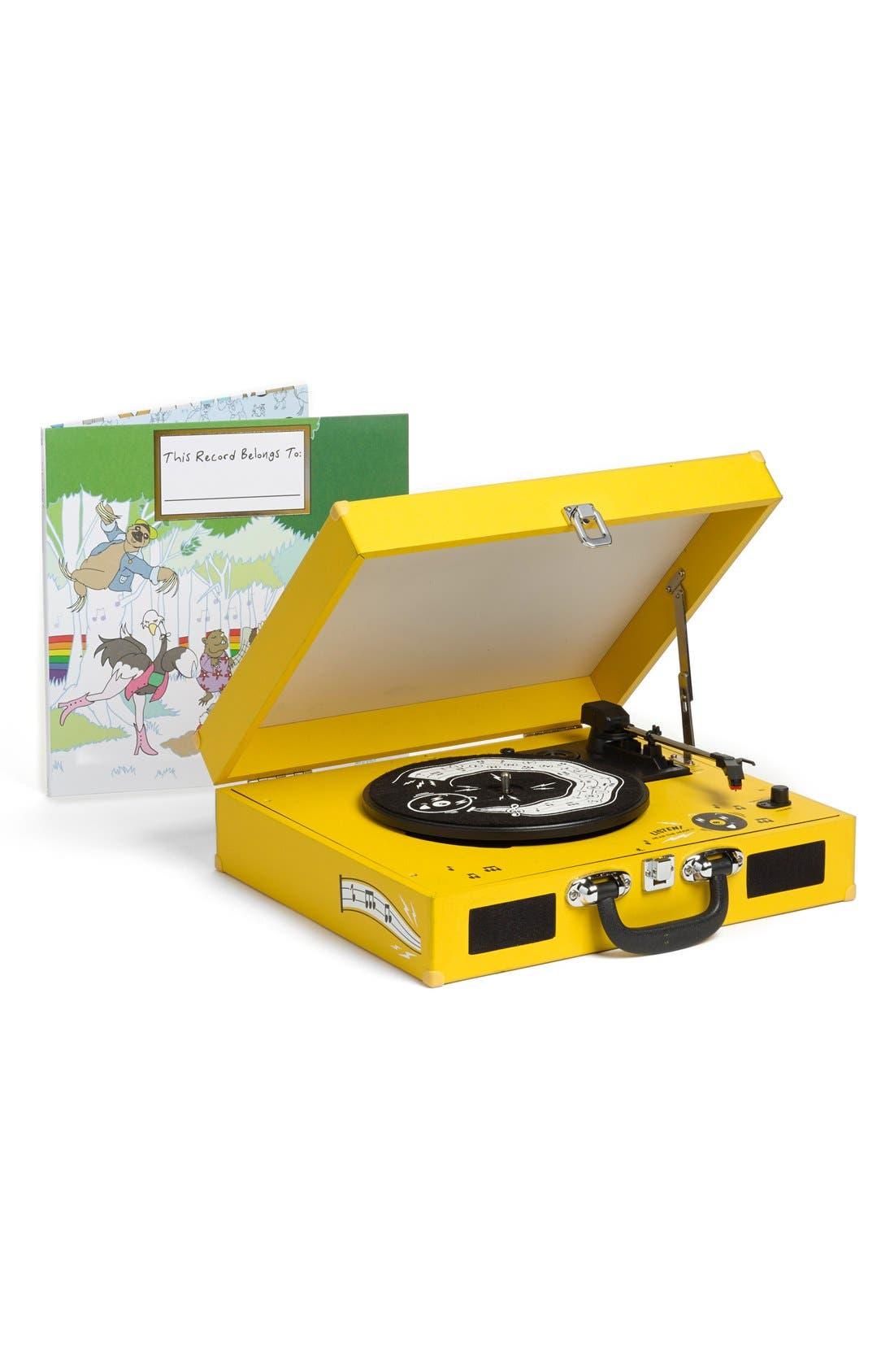 The Third Man Mini Record Player & This Record Belongs To ___ Storybook & LP Set,                             Main thumbnail 1, color,                             700