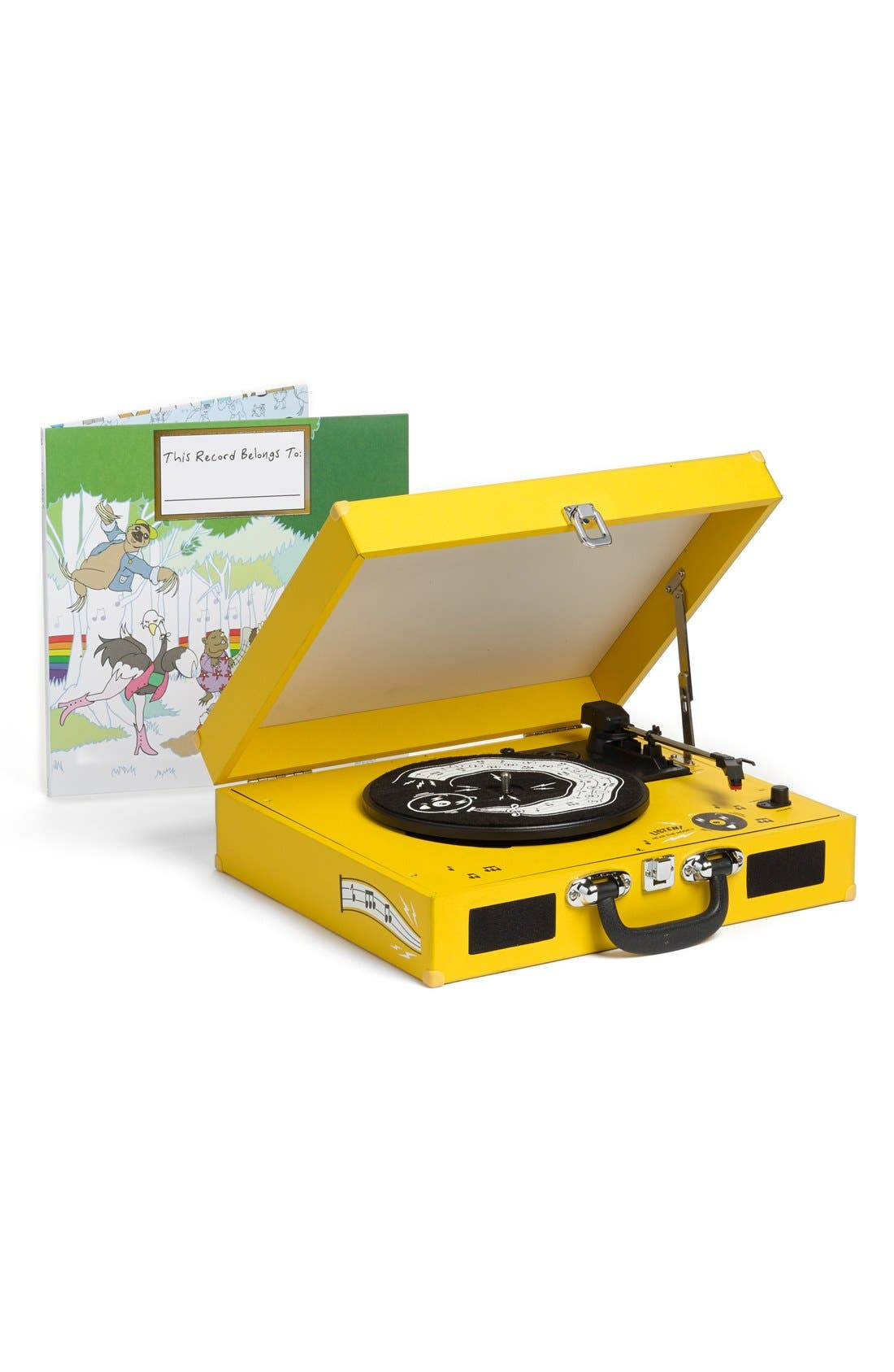 The Third Man Mini Record Player & This Record Belongs To ___ Storybook & LP Set, Main, color, 700