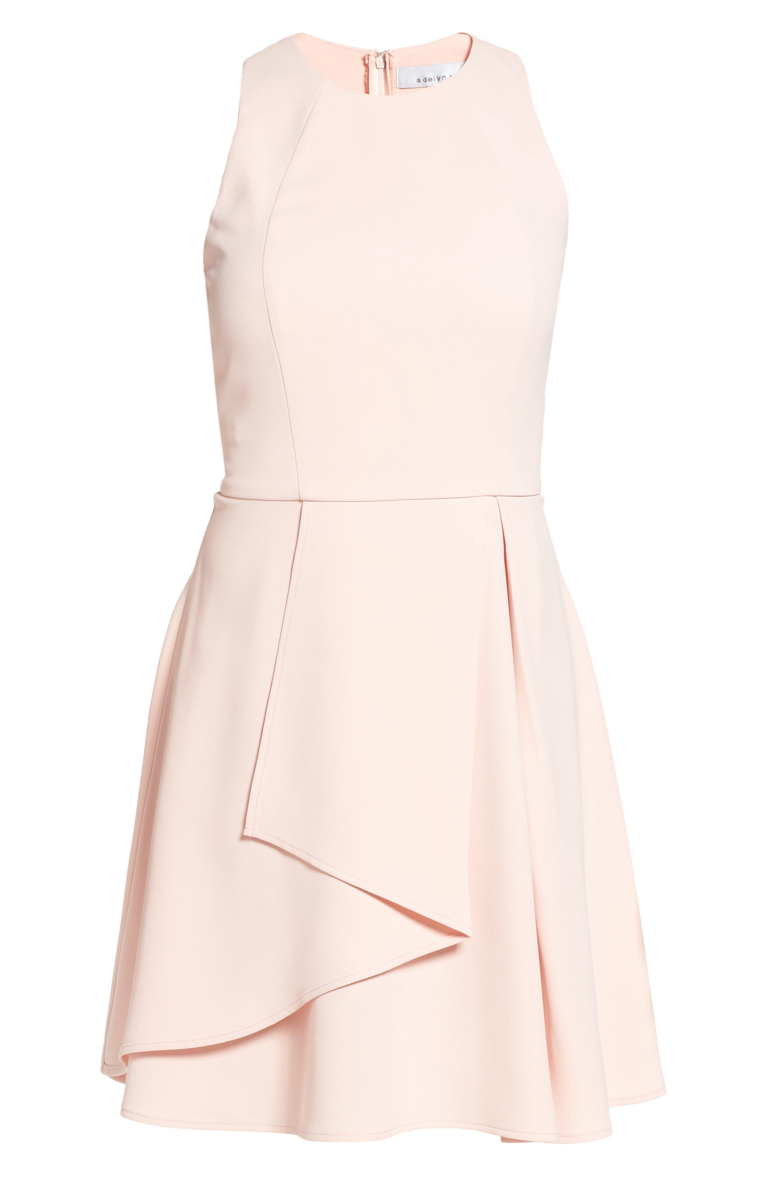 Athena Fit & Flare Dress,                             Alternate thumbnail 24, color,